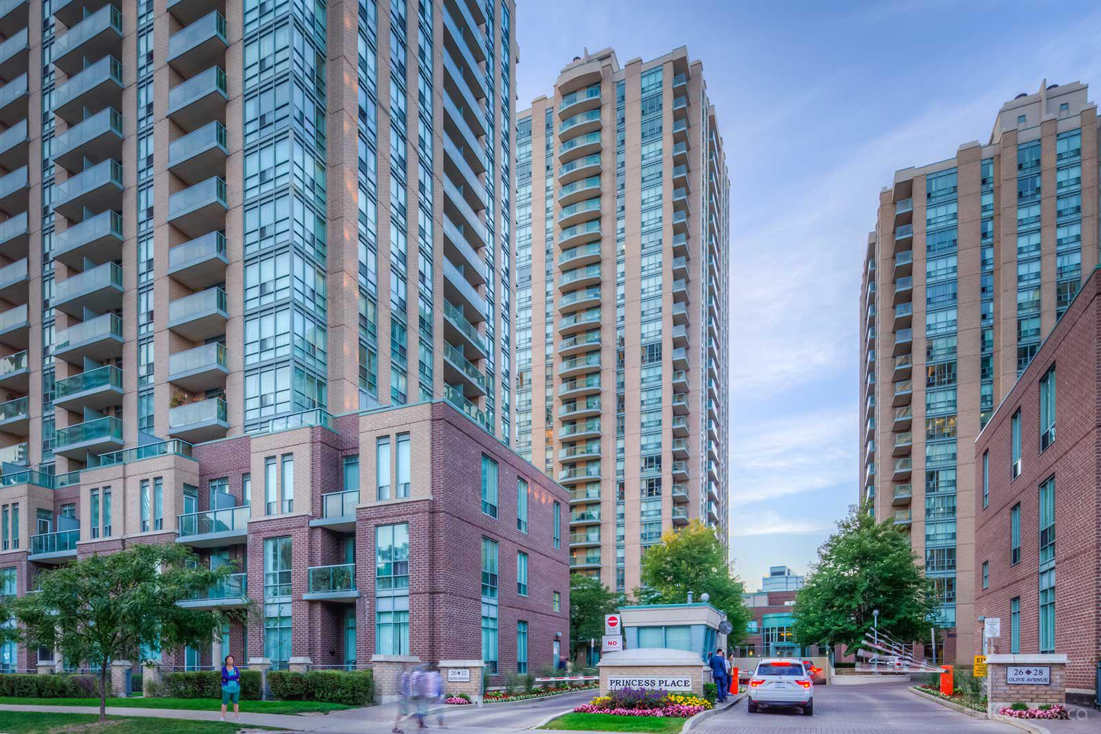 Princess Place Ⅰ at 26 Olive Ave, Toronto 1