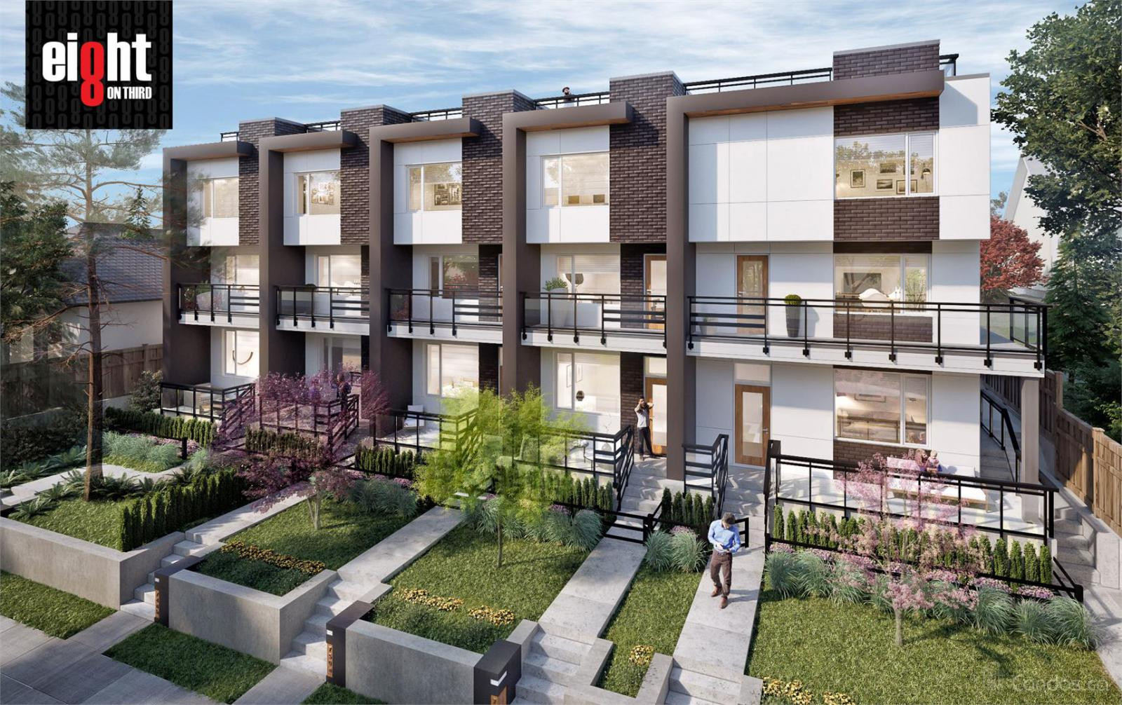 Eight On Third Townhomes at 748 E 3rd St, North Vancouver City 0