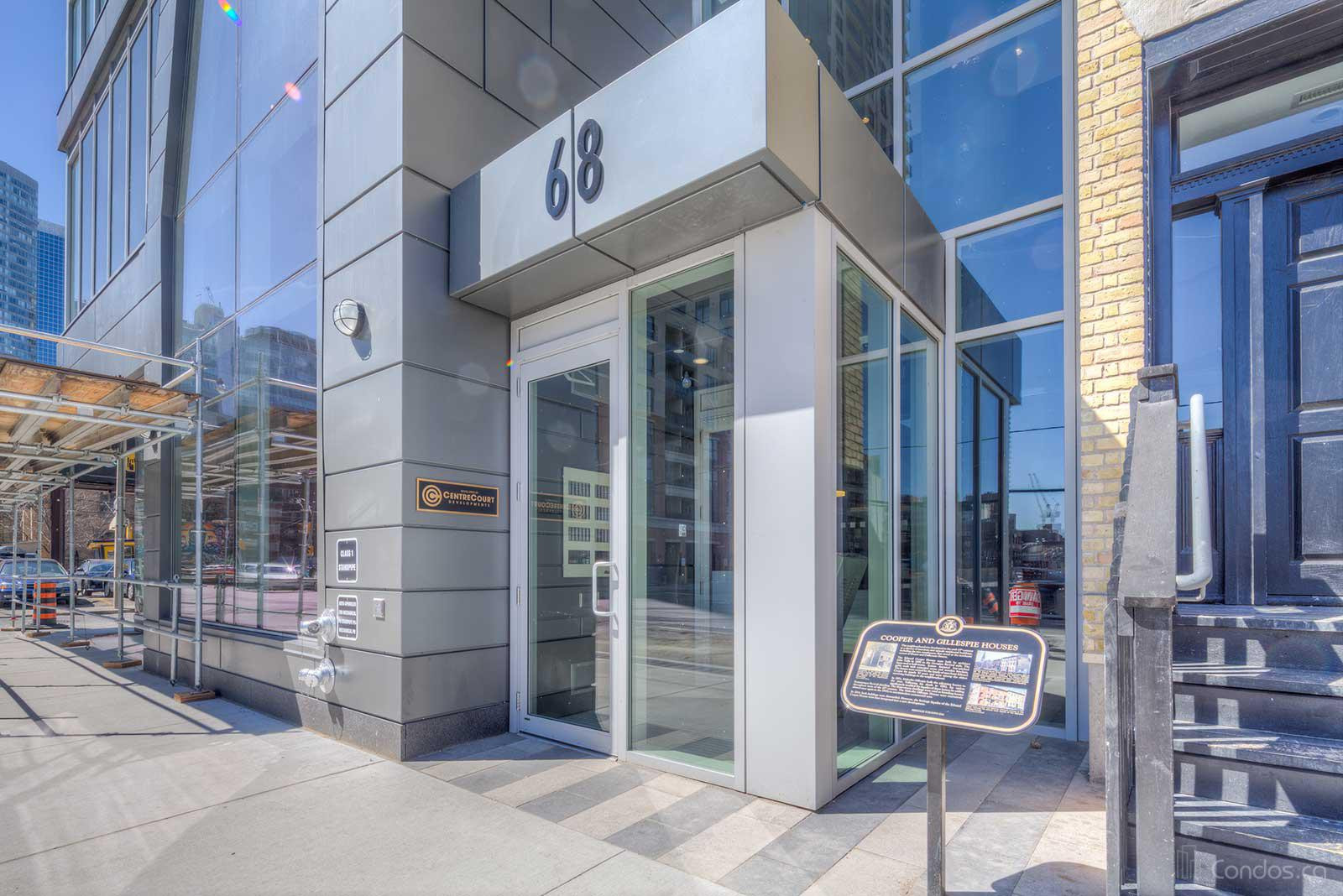 Core Condos at 68 Shuter St, Toronto 1