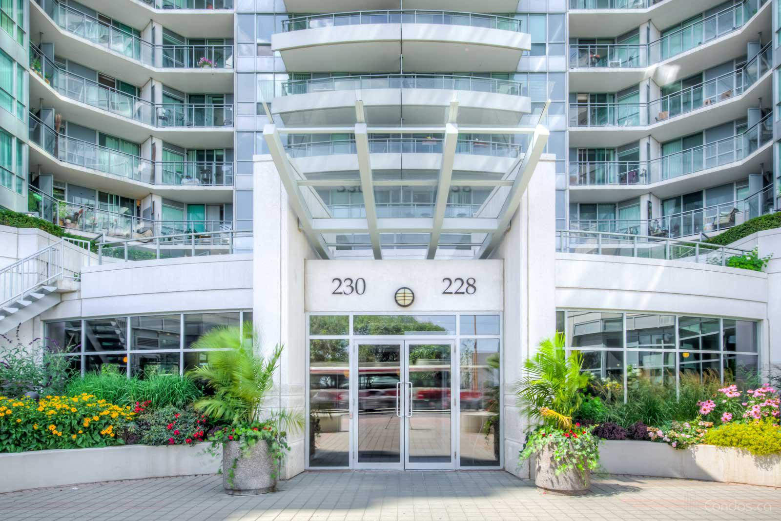 The Riviera at 228 Queens Quay W, Toronto 1