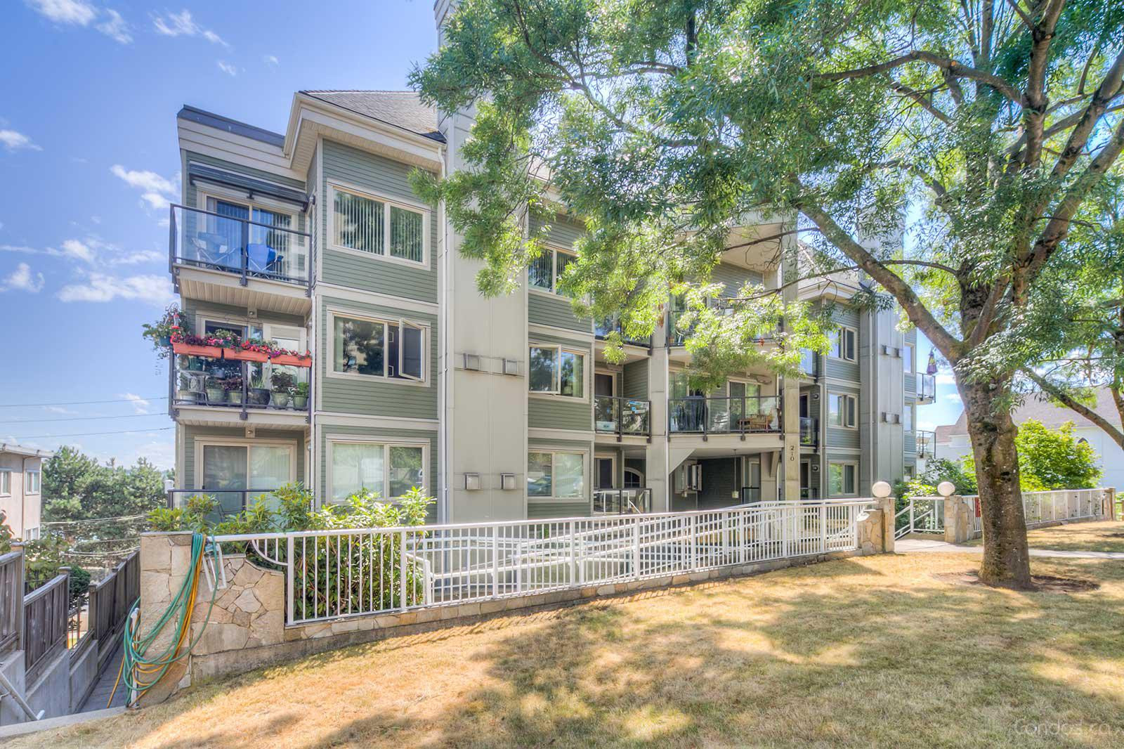Hillside Heights at 210 Carnarvon St, New Westminster 1