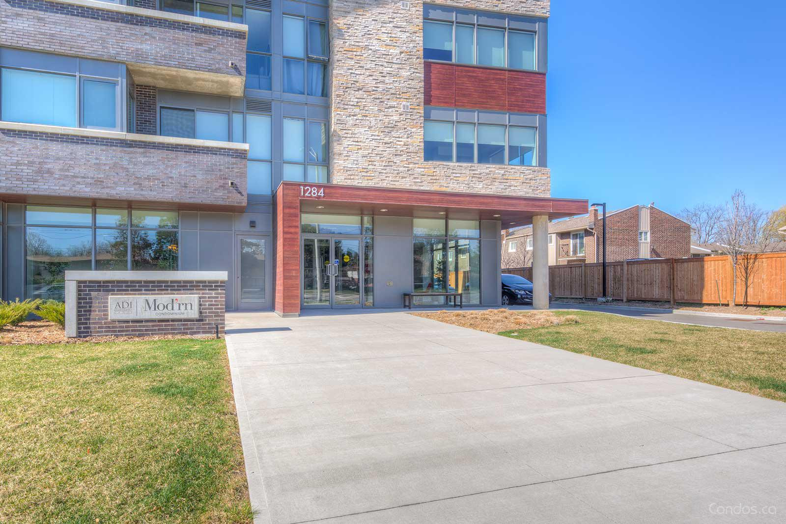 The Mod'rn Condominium at 1284 Guelph Line, Burlington 1