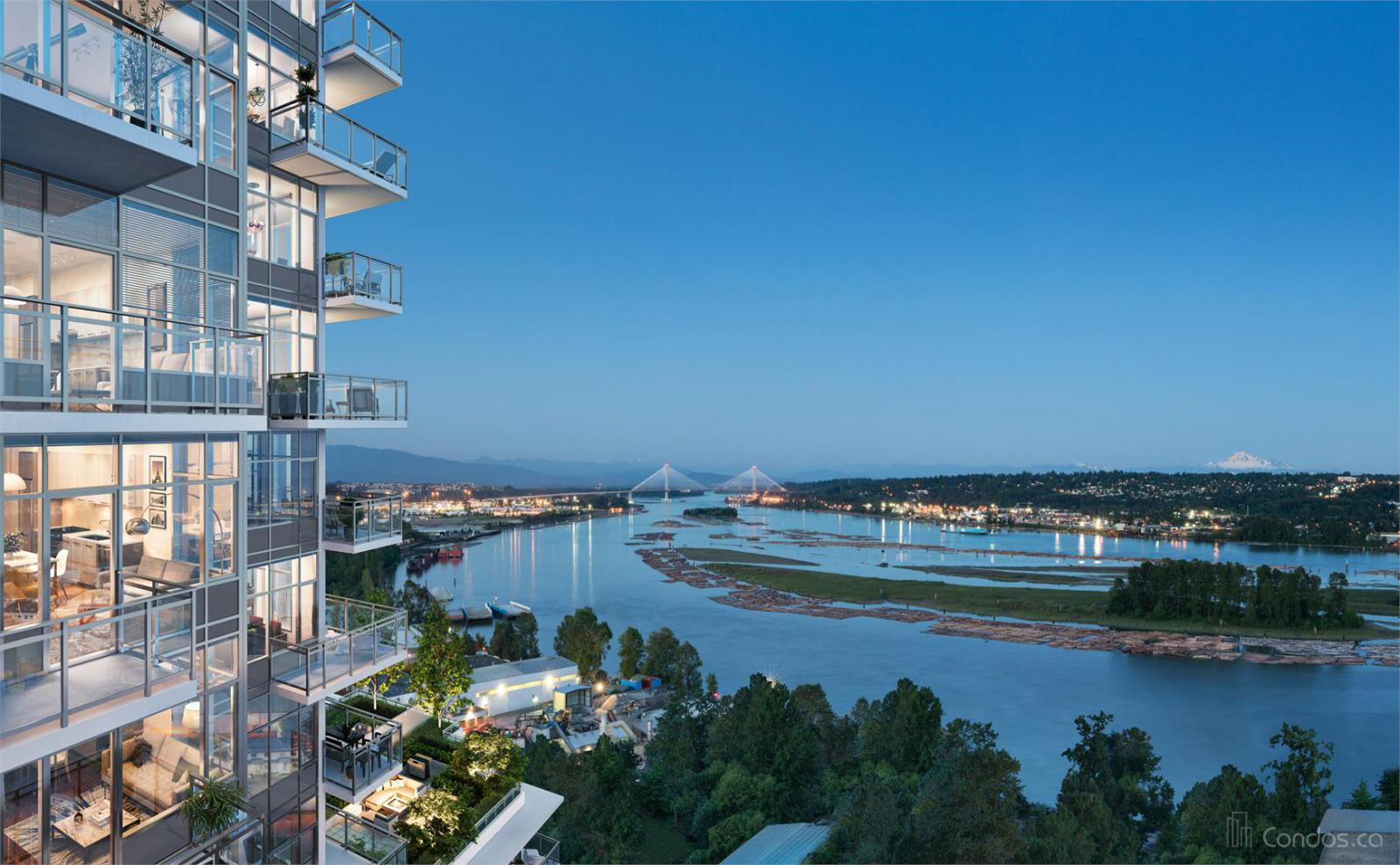 The Columbia at 258 Nelson's Crescent, New Westminster 0