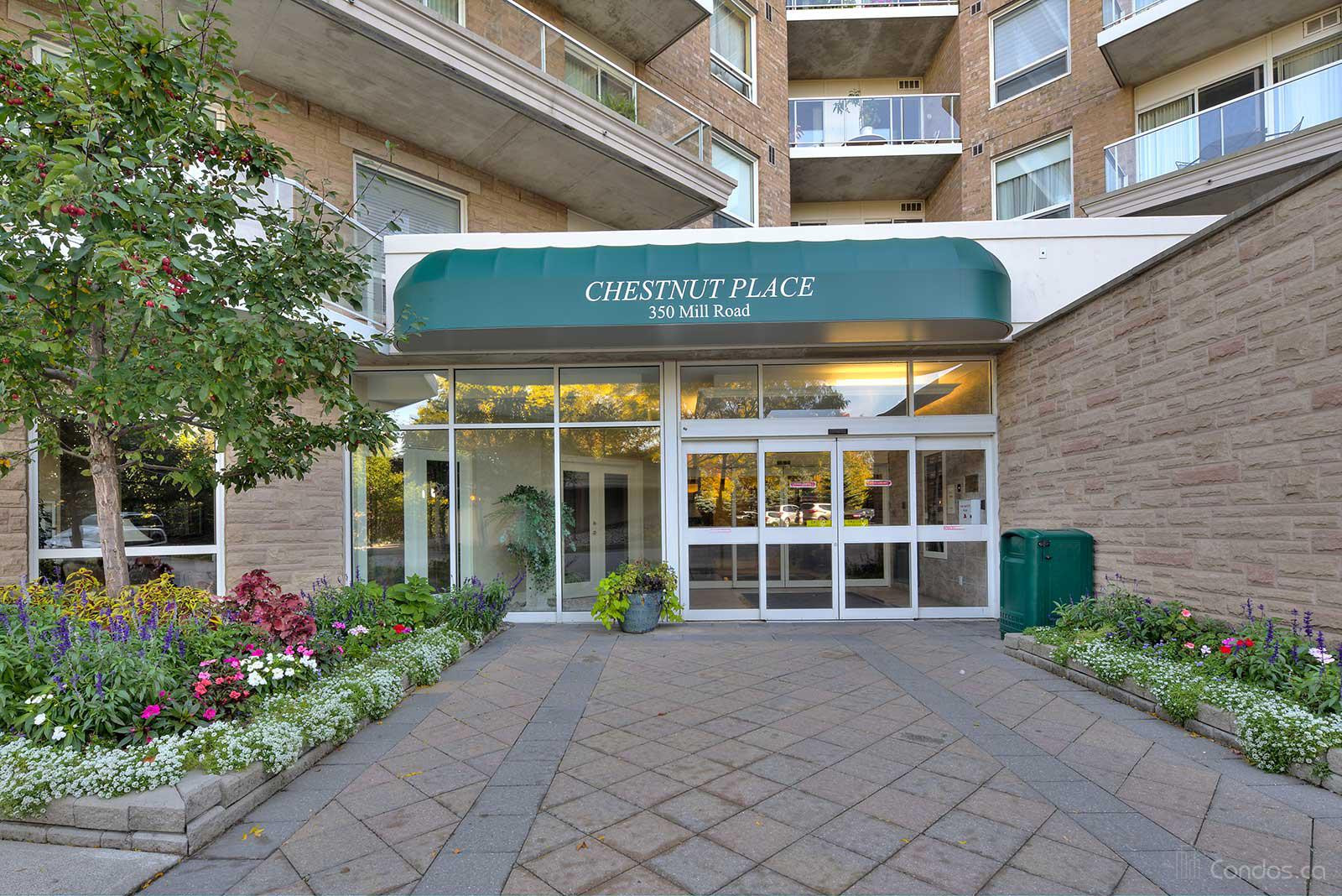 Chestnut Place at 350 Mill Rd, Toronto 1