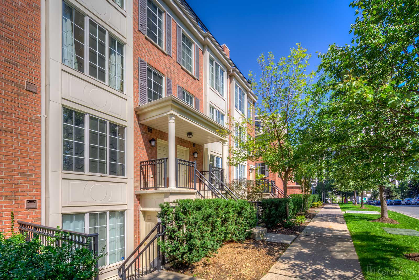 Everson Townhomes at 3 Everson Dr, Toronto 1
