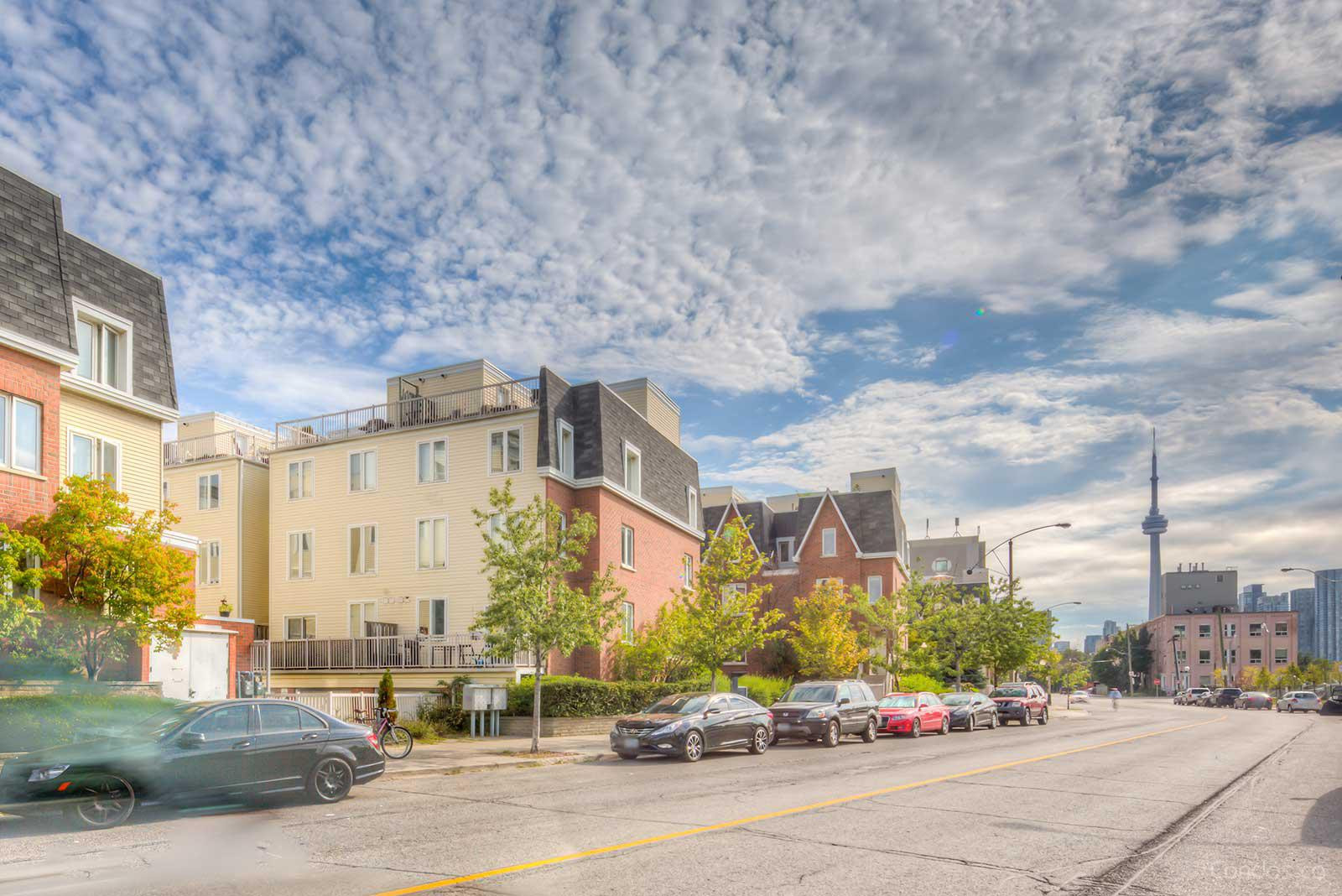 King West VillageTowns at 27 Canniff St, Toronto 1