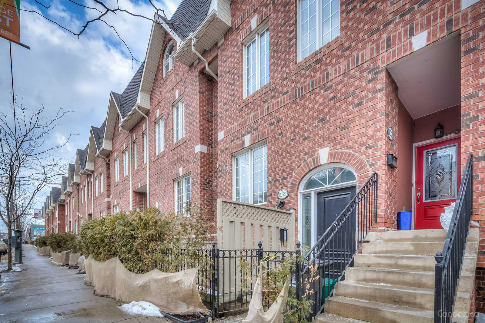 Prego Townhomes Ⅰ at 1021 College St, Toronto 0