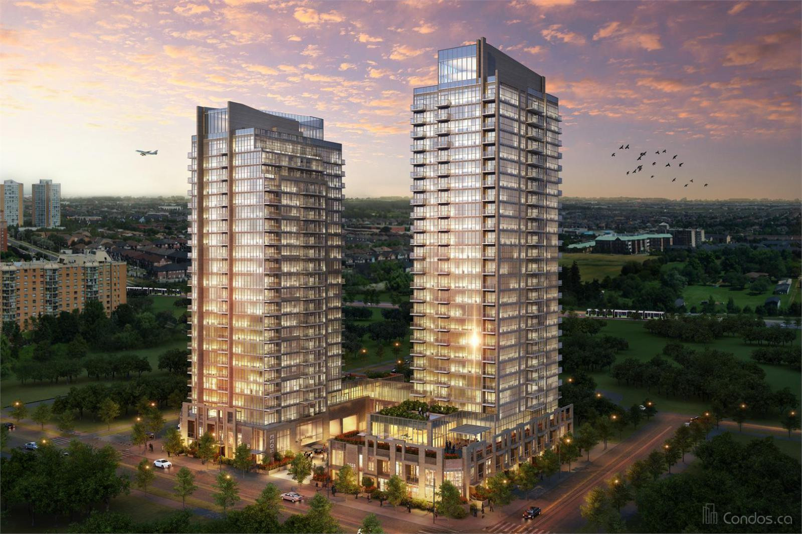 Amber Condos at 5025 Four Springs Ave, Mississauga 0