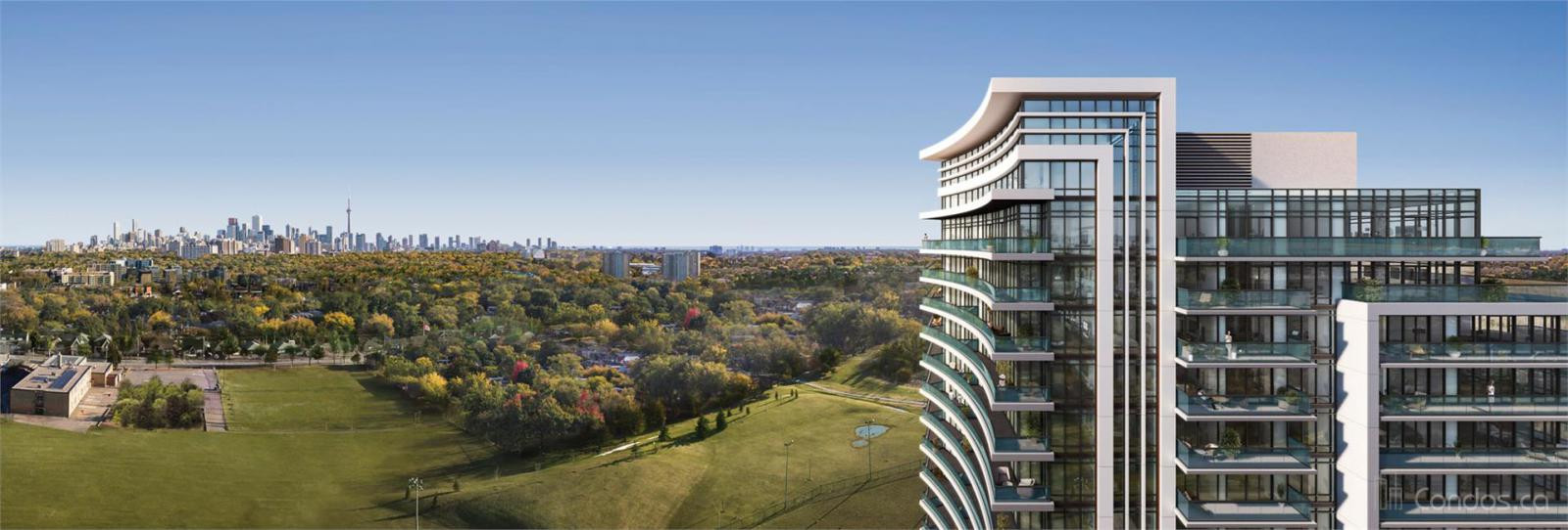 7 On The Park at 1395 Lawrence Ave W, Toronto 0