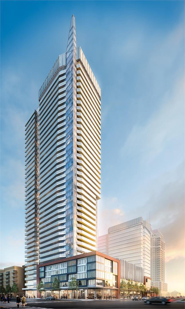 Wesley Tower at Daniels City Centre at 4065 Confederation Pkwy, Mississauga 0
