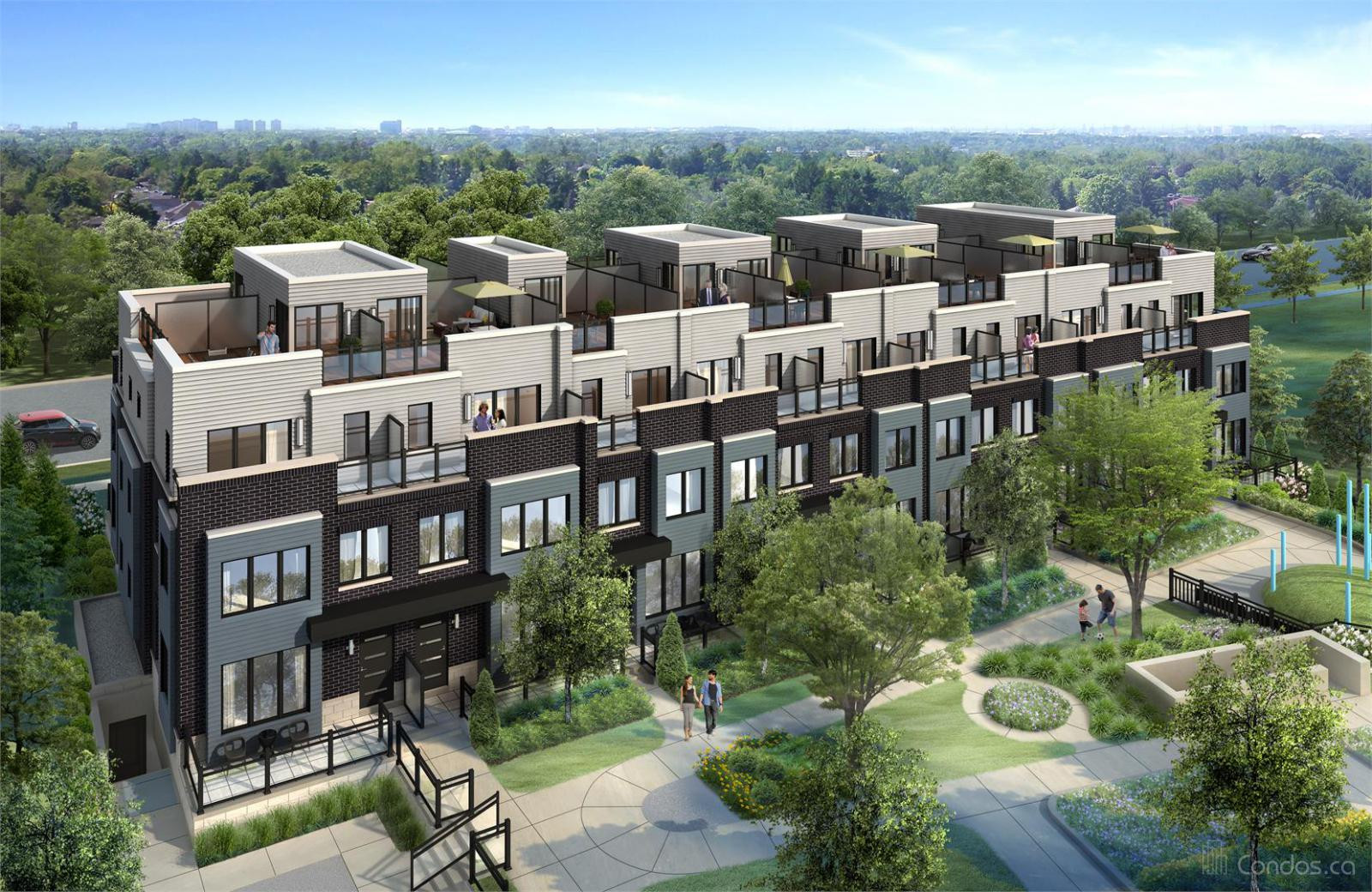 Southdown Towns at 2232 Bromsgrove Rd, Mississauga 0