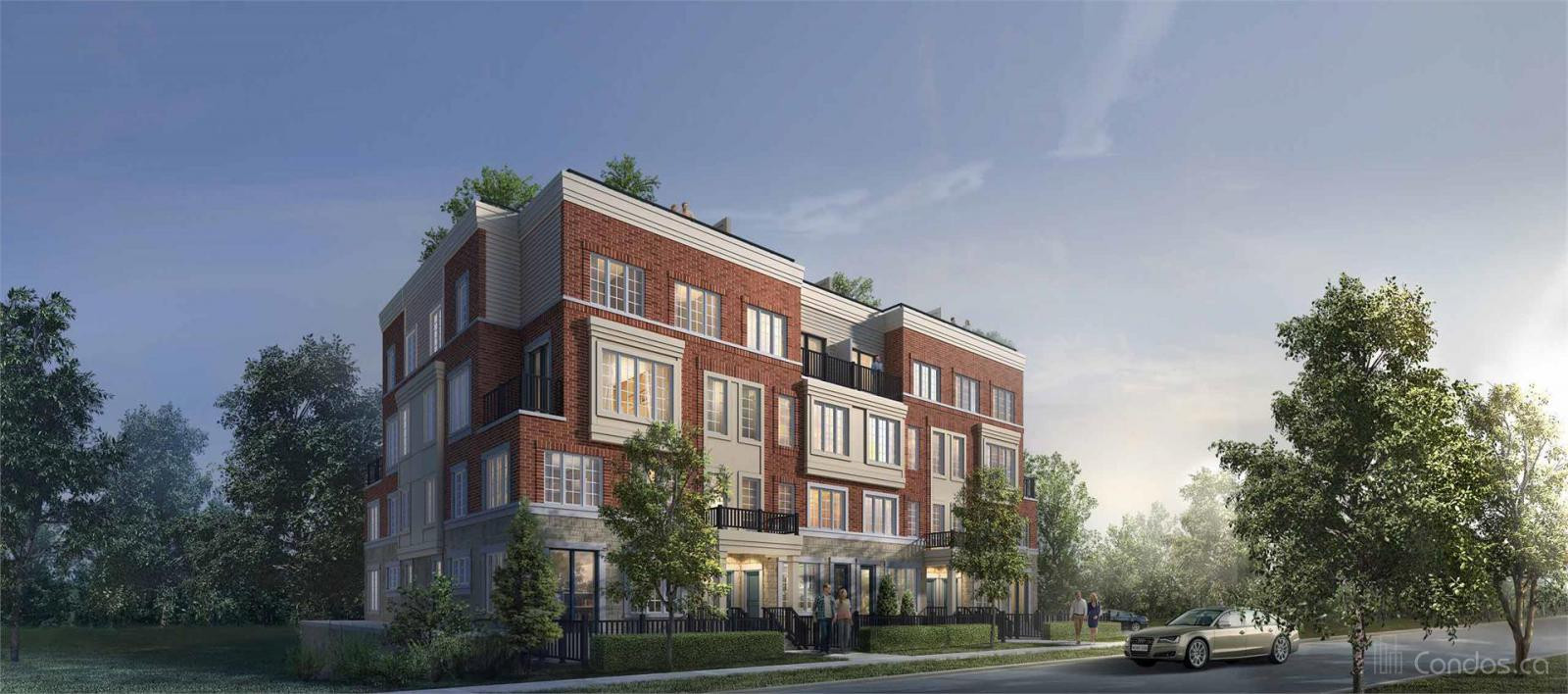 Block 55 Townhomes at 2274 Trafalgar Rd, Oakville 0