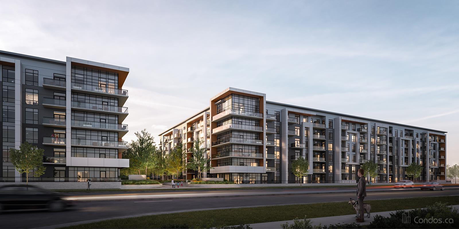 Bower Condos on The Preserve at 1388 Dundas St W, Oakville 0