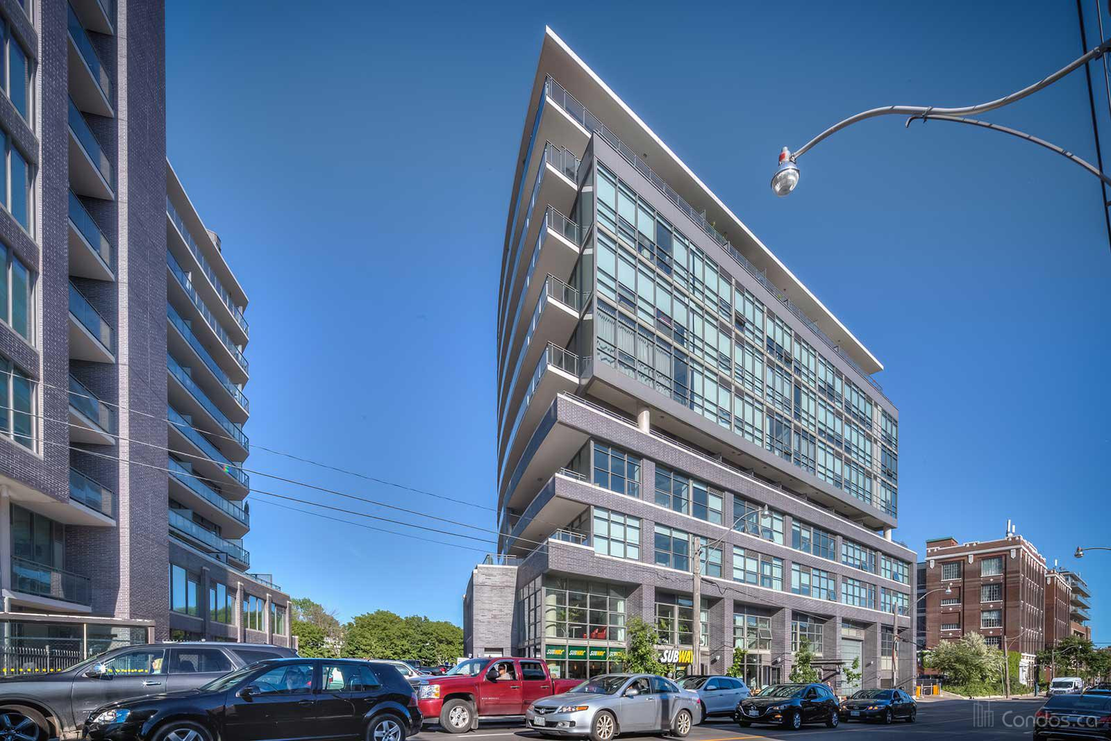 Work Lofts at 319 Carlaw Ave, Toronto 1