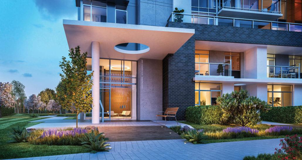 Terraces at The Peak at 8940 University Crescent, Burnaby 1
