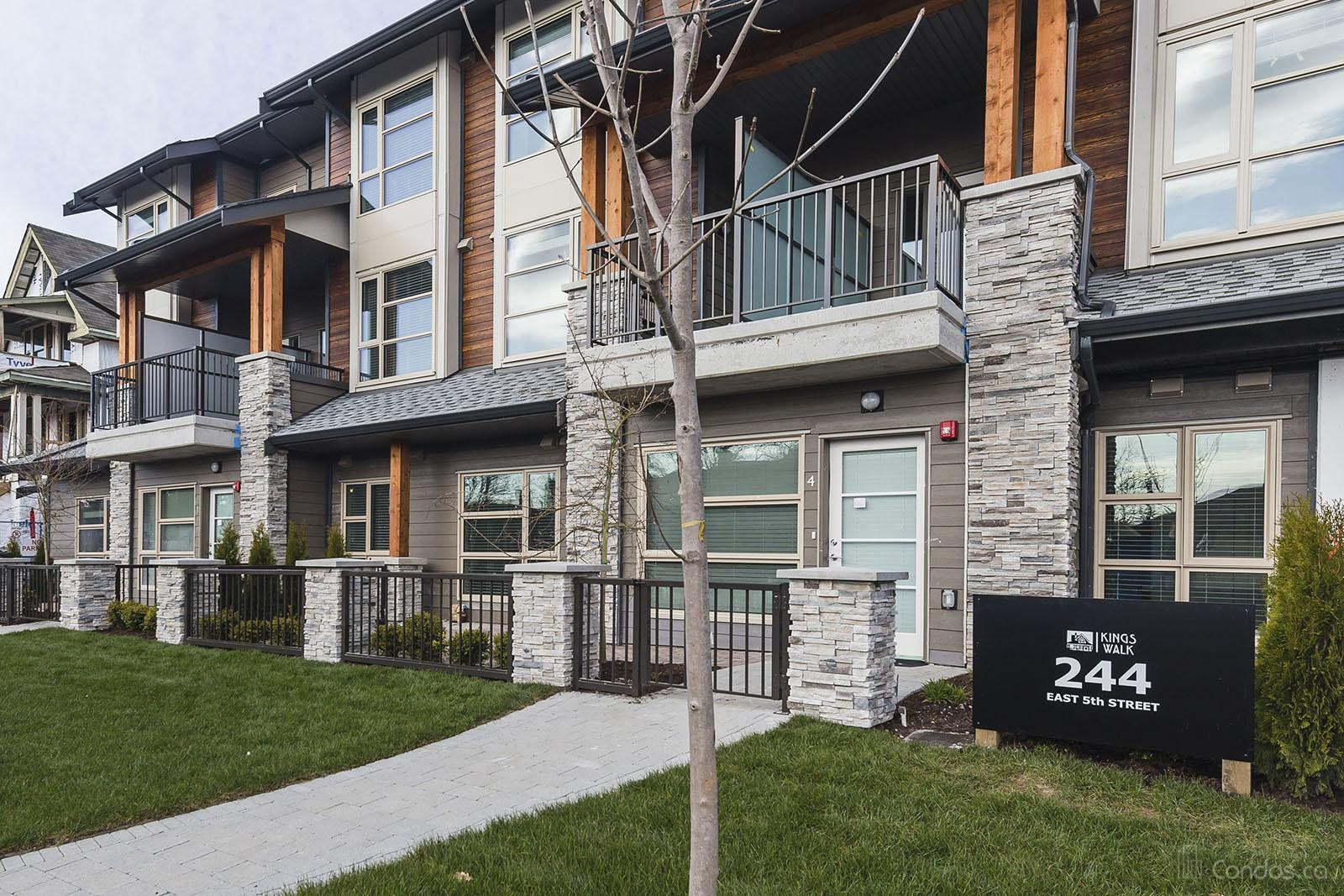 King's Walk Townhomes at 244 5th St E, North Vancouver City 0