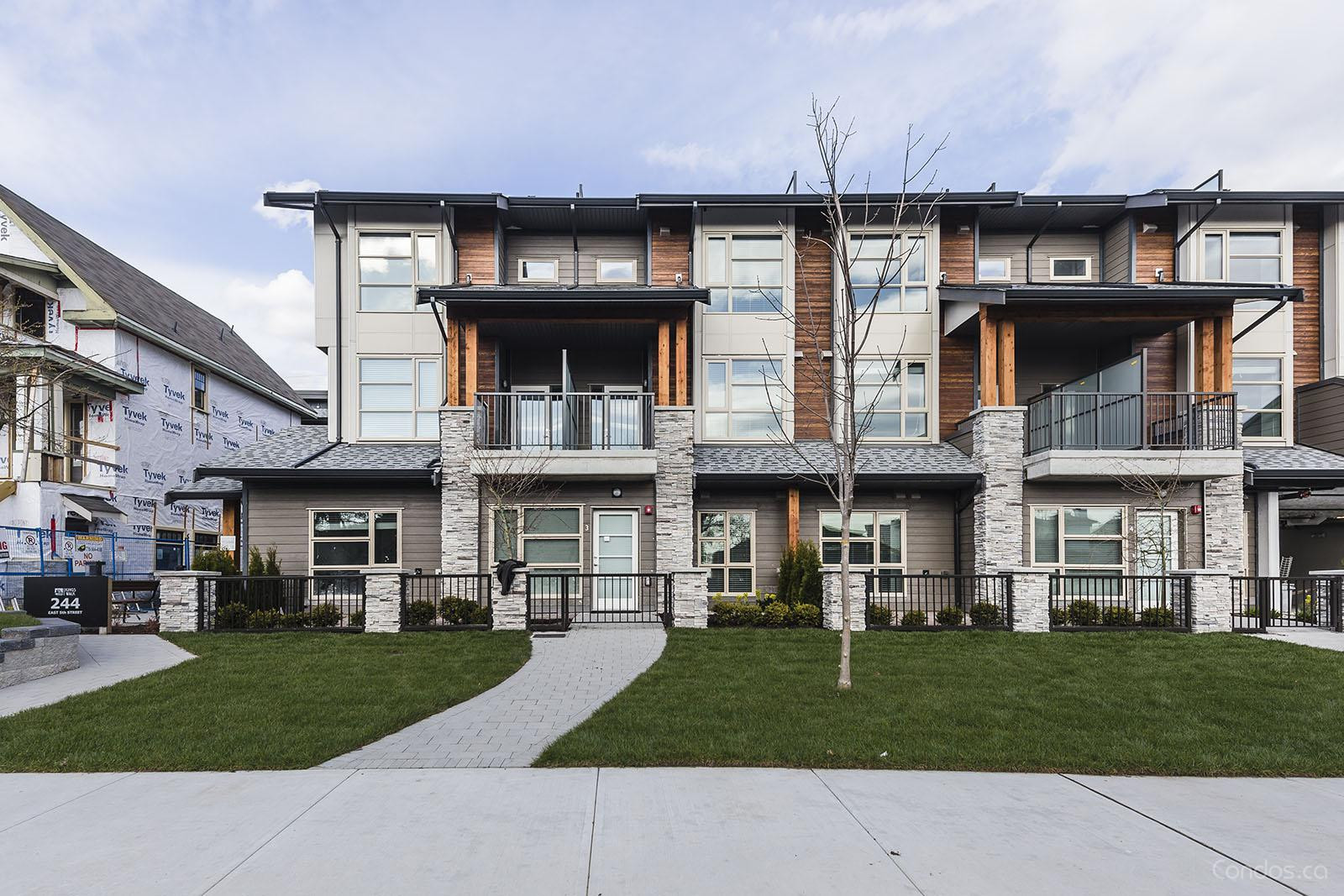 King's Walk Townhomes at 244 5th St E, North Vancouver City 1