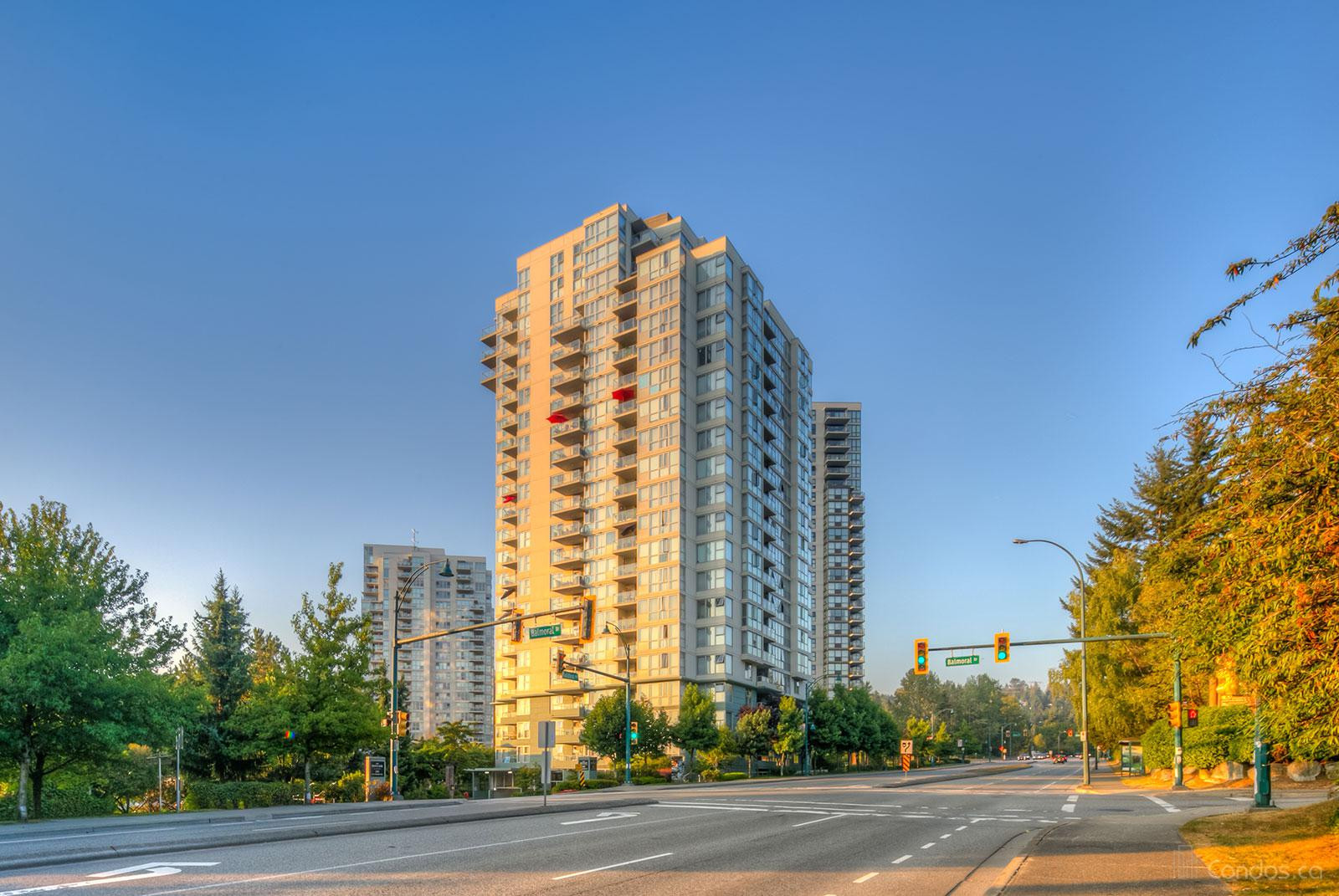 The Bentley at 295 Guildford Way, Port Moody 1