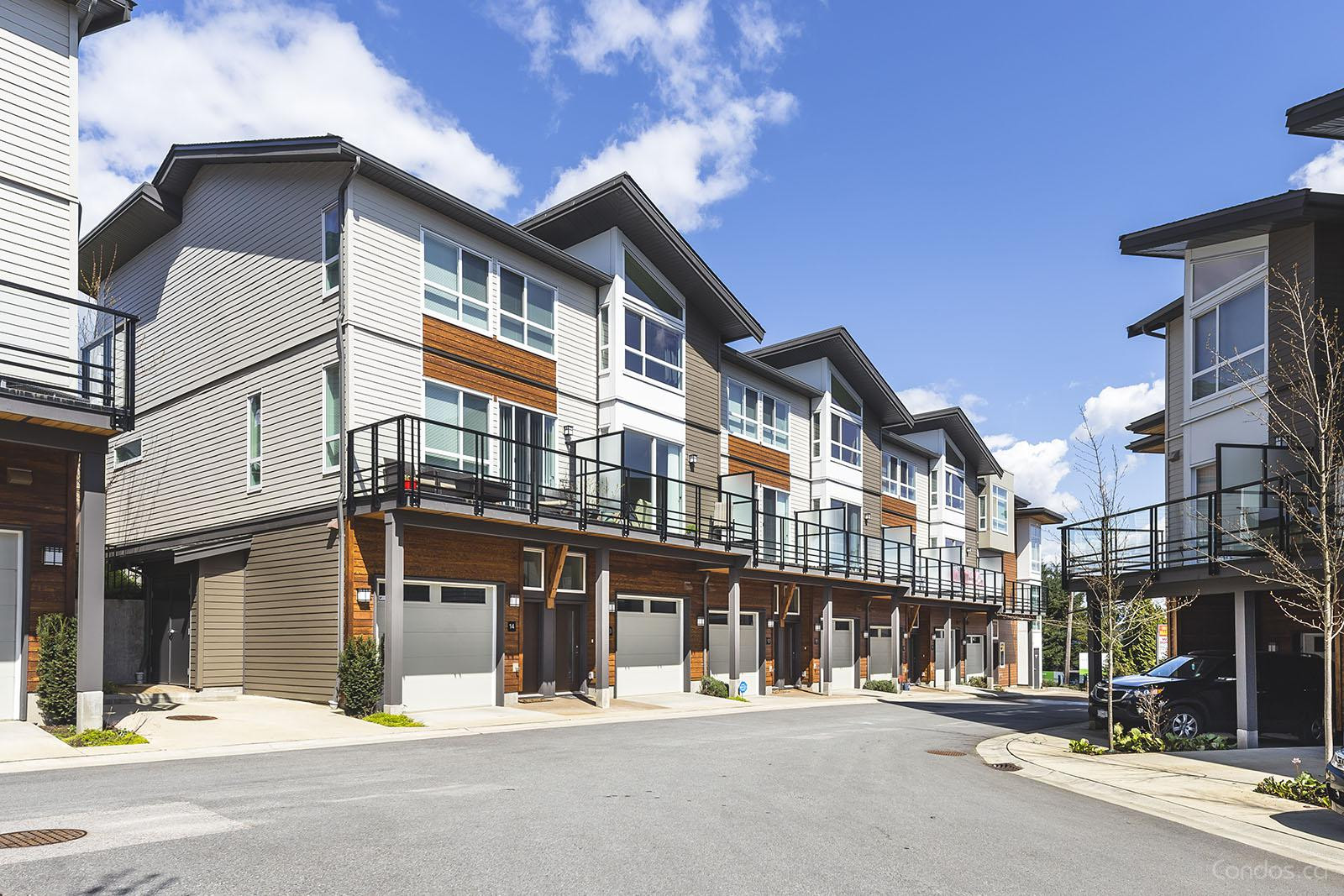 Clarke Townhomes at 909 Clarke Rd, Port Moody 1