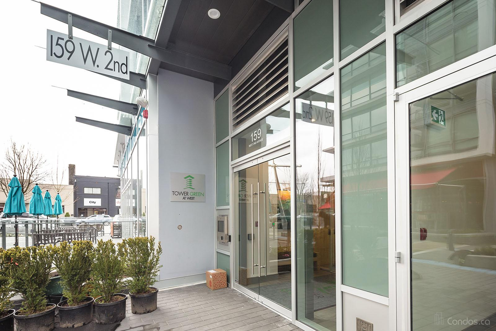 Tower Green At West at 159 W 2nd Ave, Vancouver 1