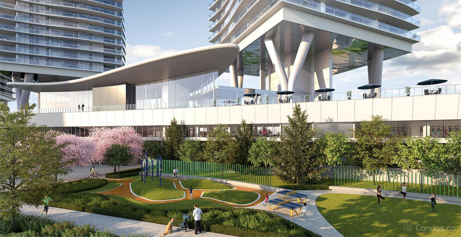 Concord Brentwood Phase Two - Hillside East at 4880 Lougheed Hwy, Burnaby 1