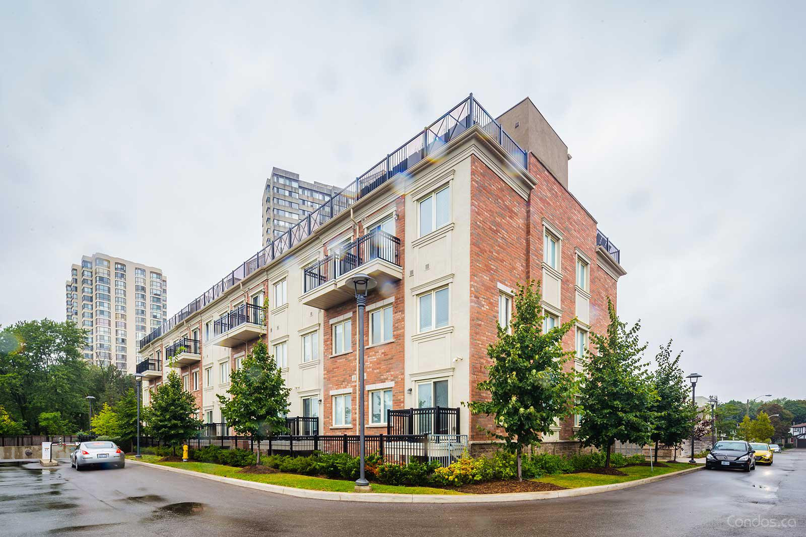Bloom Park Towns at 15 Coneflower Cres, Toronto 1