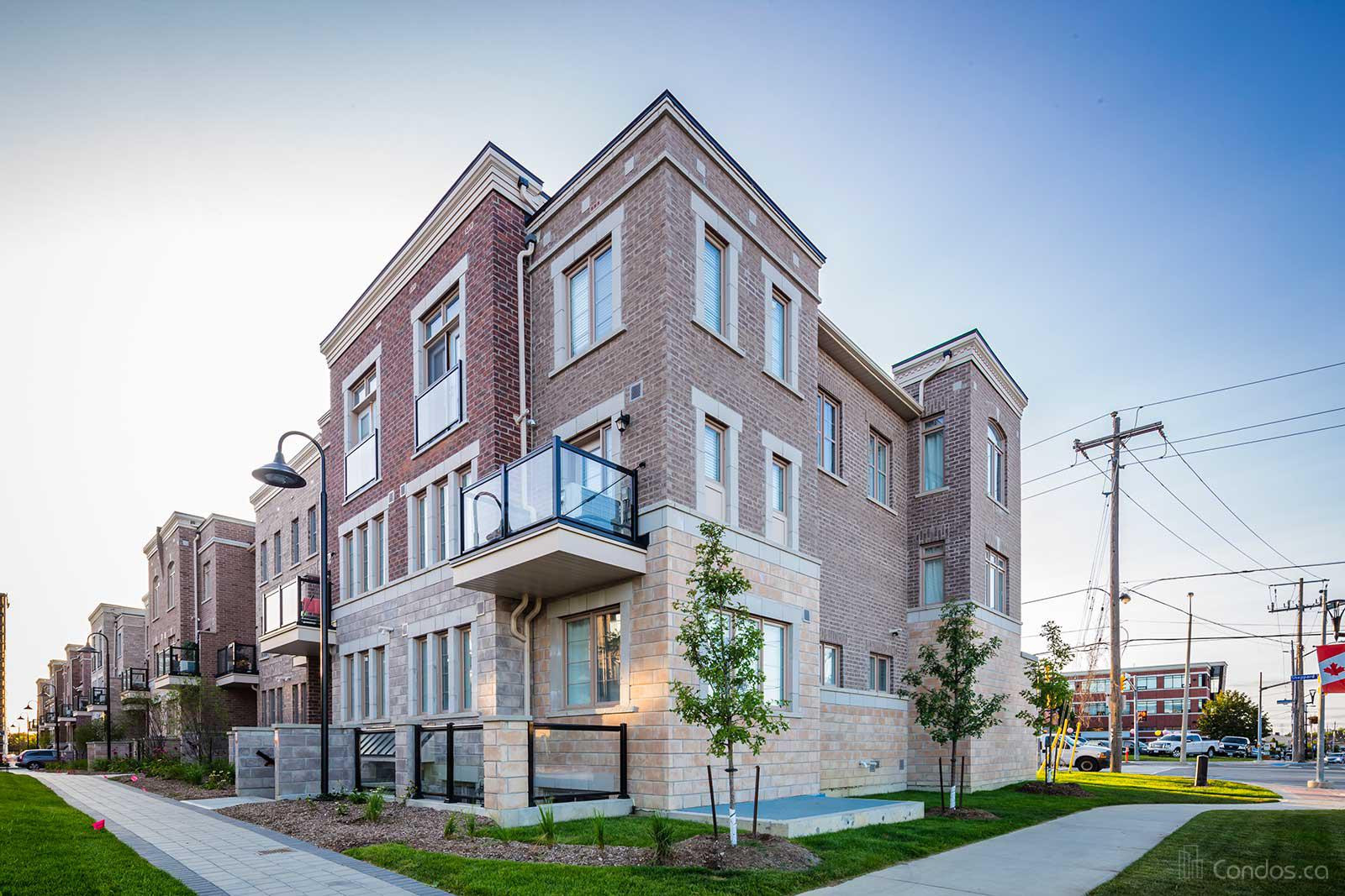 The Brownstones at Westown at 2315 Sheppard Ave W, Toronto 1