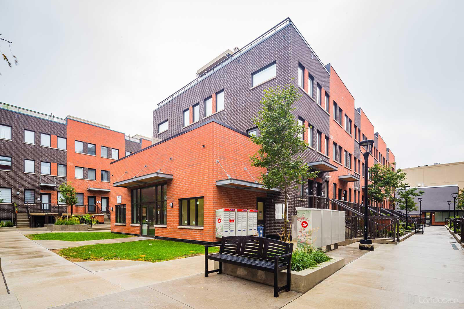 Yorkdale Village Townhomes at 867 Wilson Ave, Toronto 1