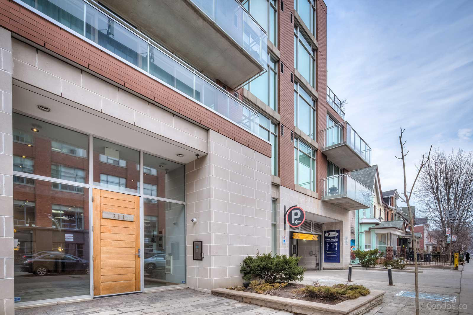 Ideal Lofts at 301 Markham St, Toronto 1