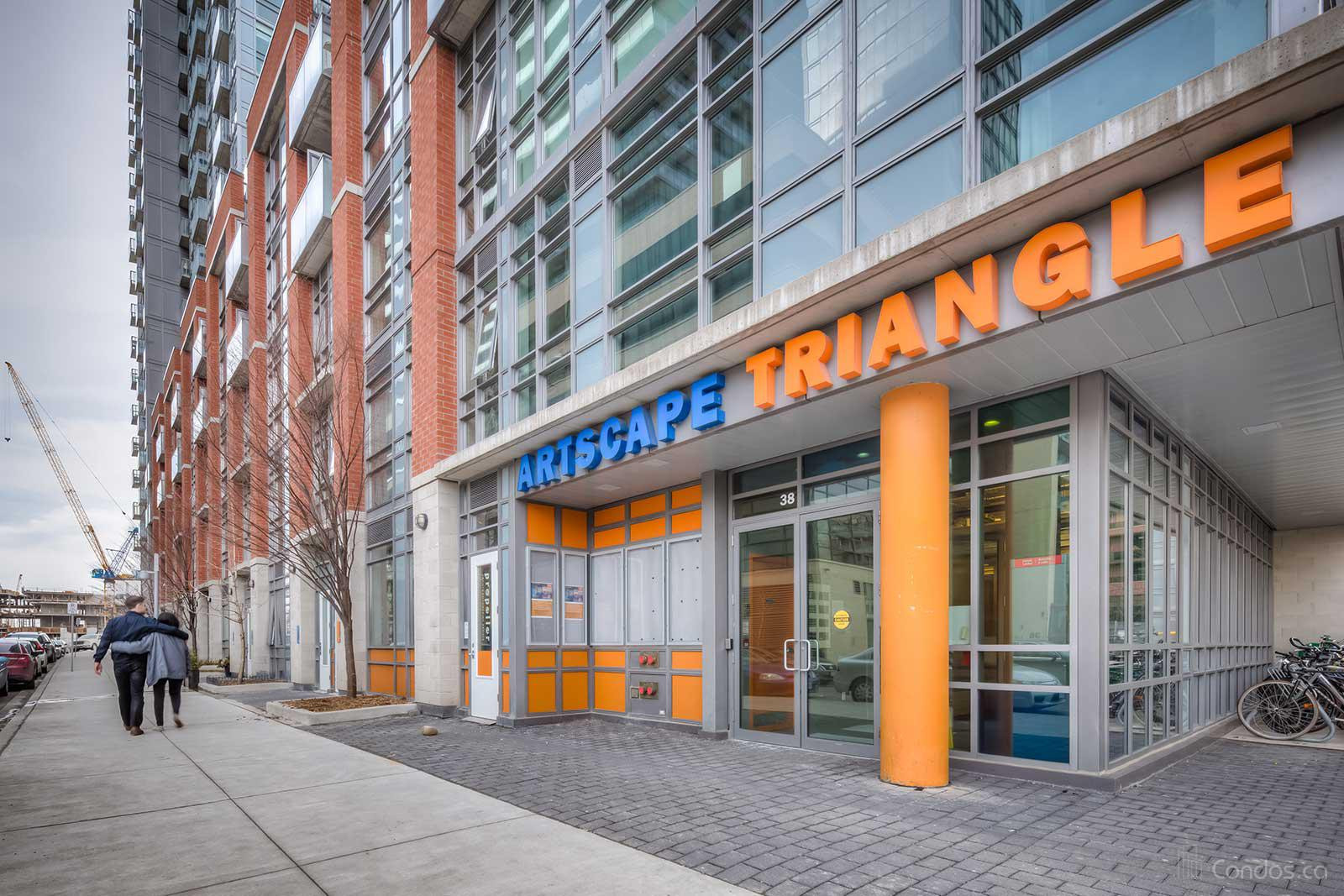 Artscape Triangle Lofts at 32 Abell St, Toronto 0