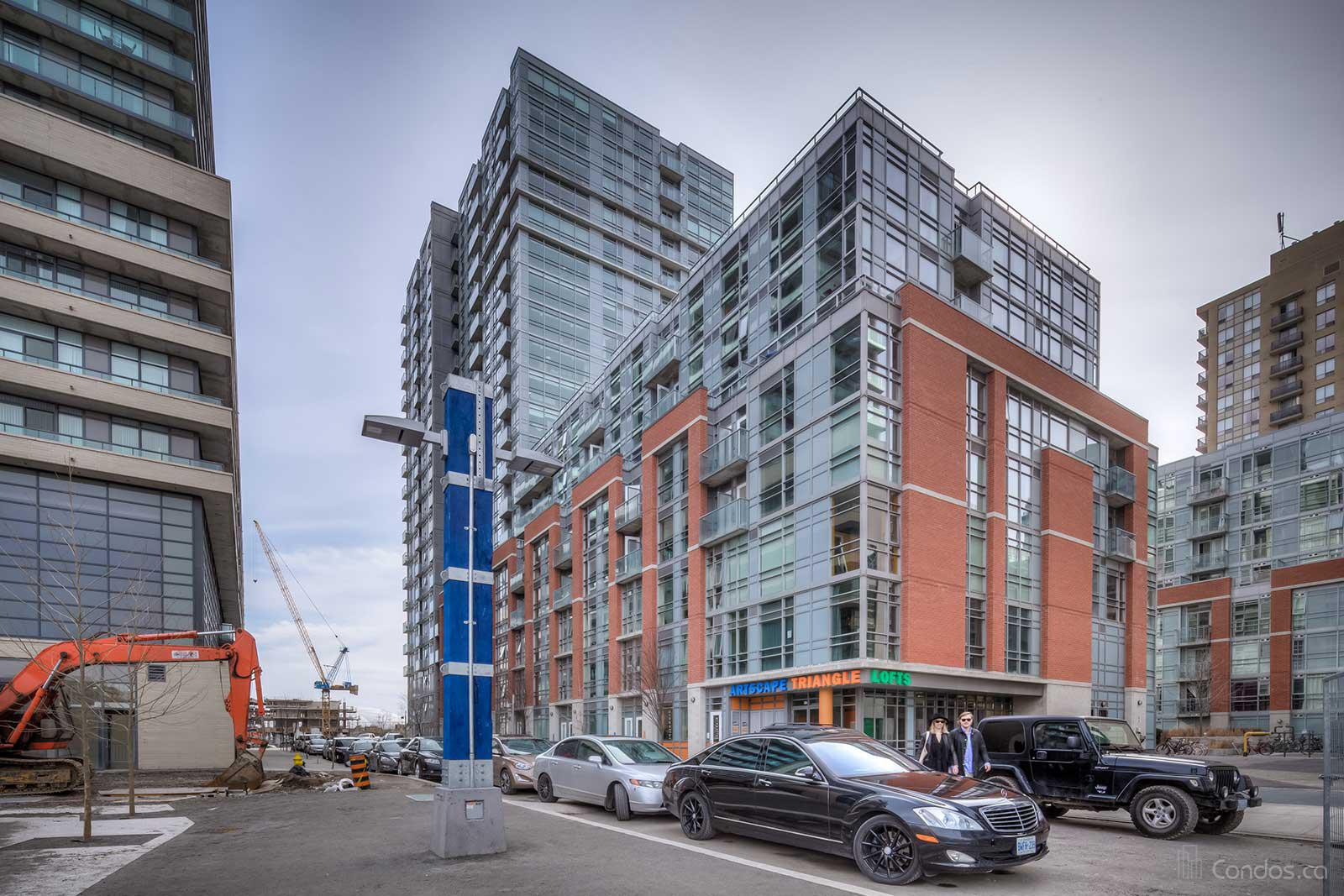 Artscape Triangle Lofts at 32 Abell St, Toronto 1