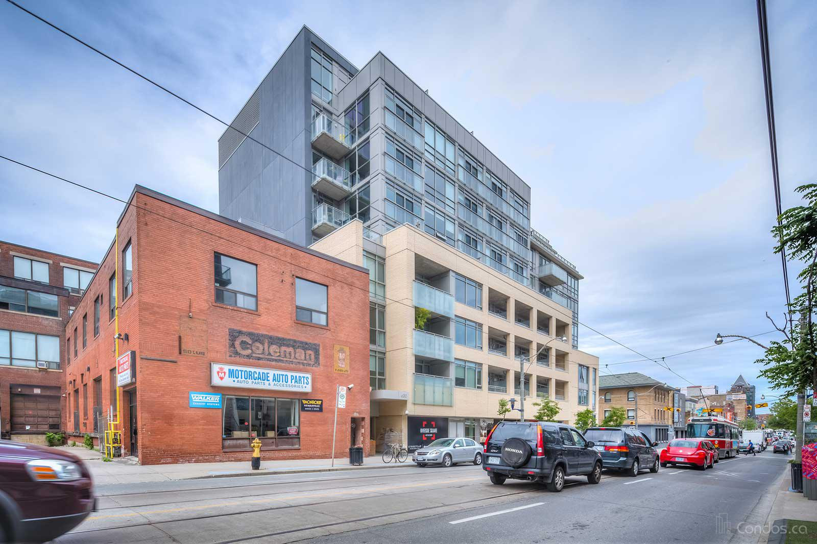 Sync Lofts at 630 Queen St E, Toronto 1