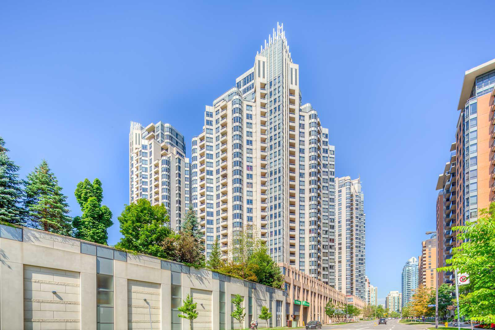 Triomphe-East Tower at 15 Northtown Way, Toronto 1