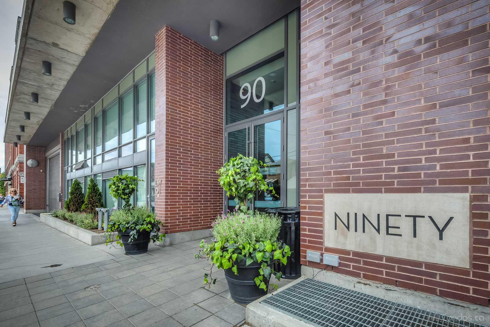 The Ninety at 90 Broadview Ave, Toronto 1