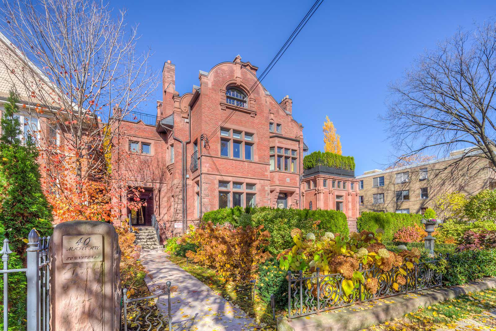 The Fudger Mansion at 40 Maple Ave, Toronto 0