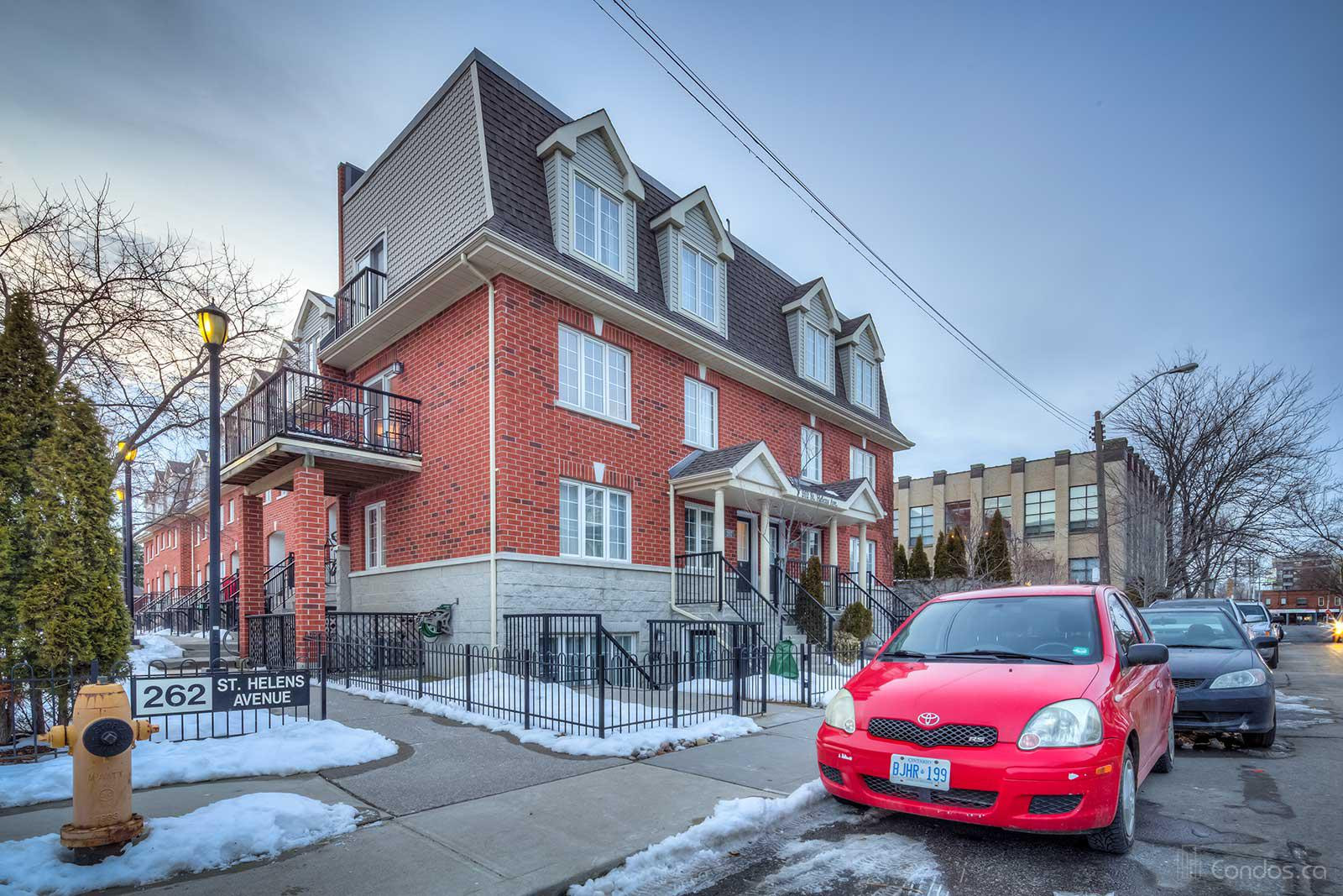 Bloor West Mews at 262 St Helens Ave, Toronto 1