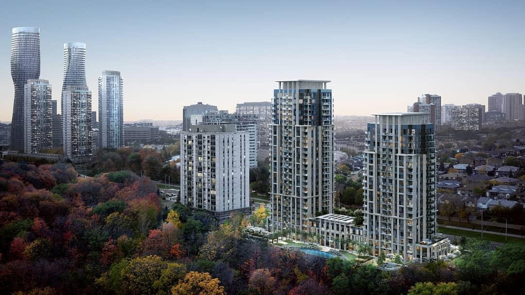 Keystone by Kaneff at 202 Burnhamthorpe Rd E, Mississauga 0