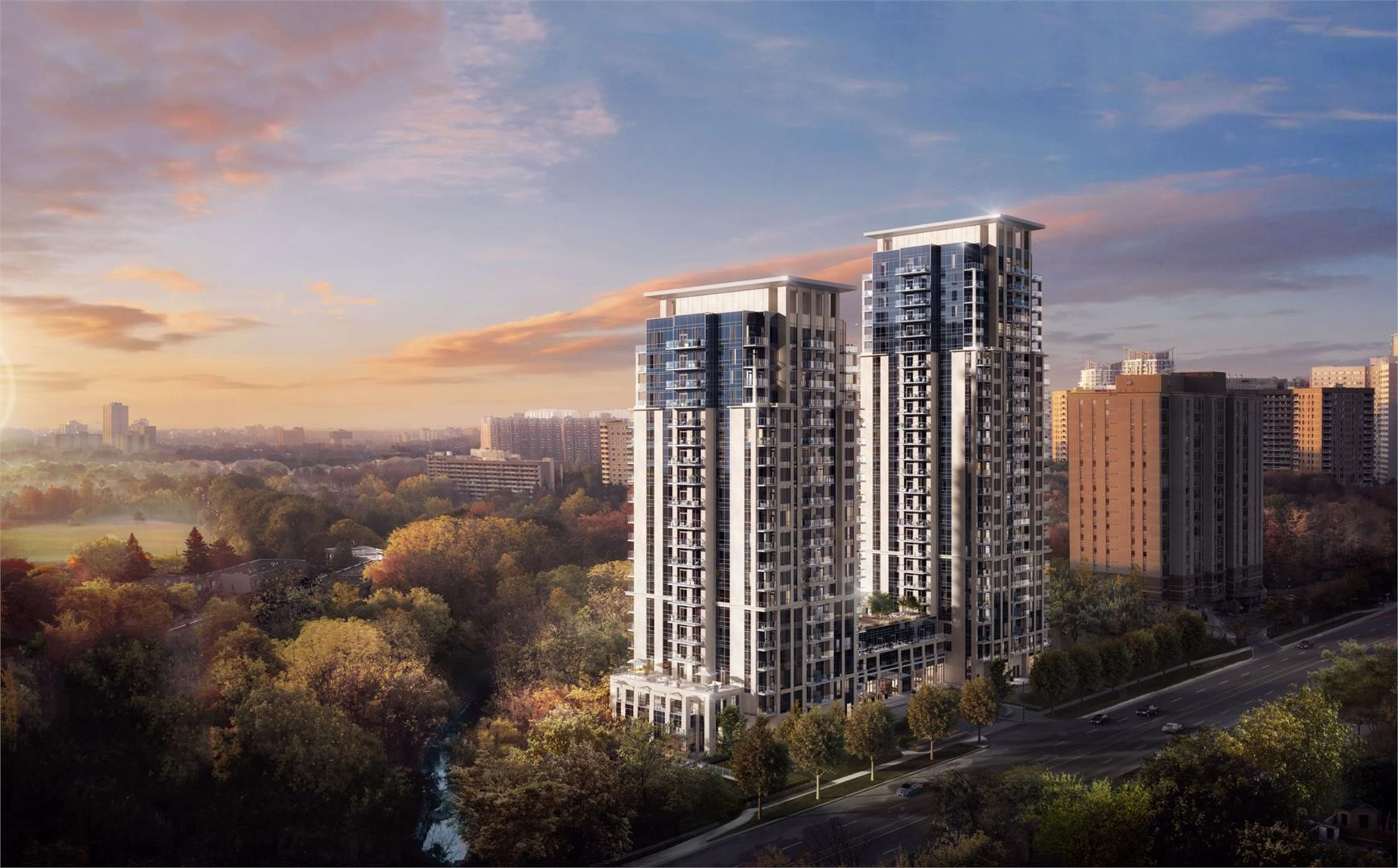 Keystone by Kaneff at 202 Burnhamthorpe Rd E, Mississauga 1