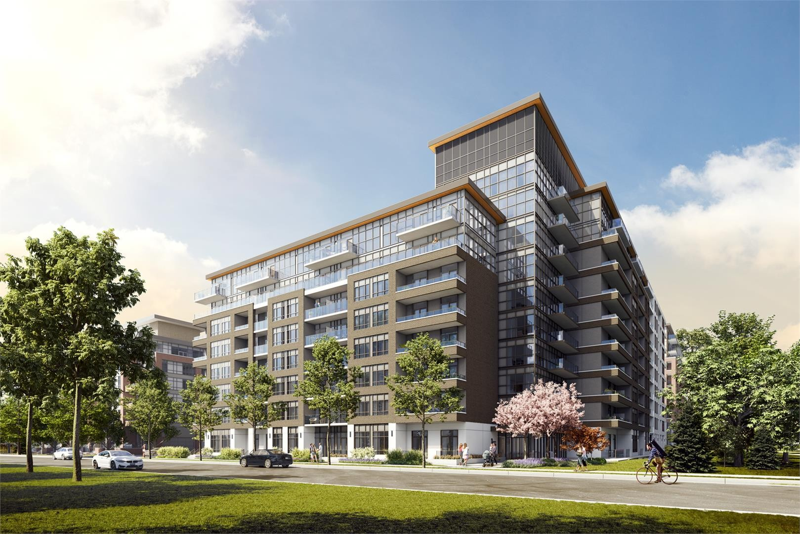 The King's Mill Condos at 153 Berry Rd, Toronto 0