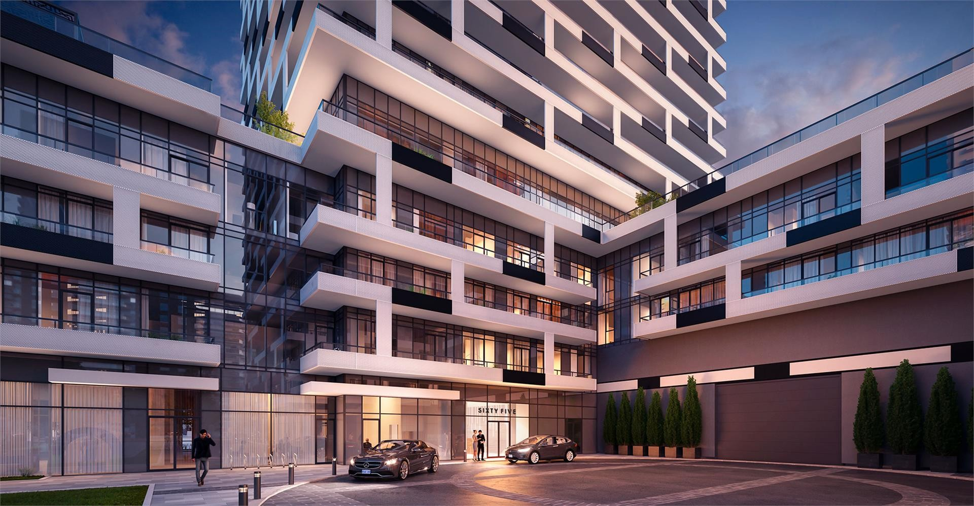 Sixty-Five Broadway Condos at 65 Broadway Ave, Toronto 0