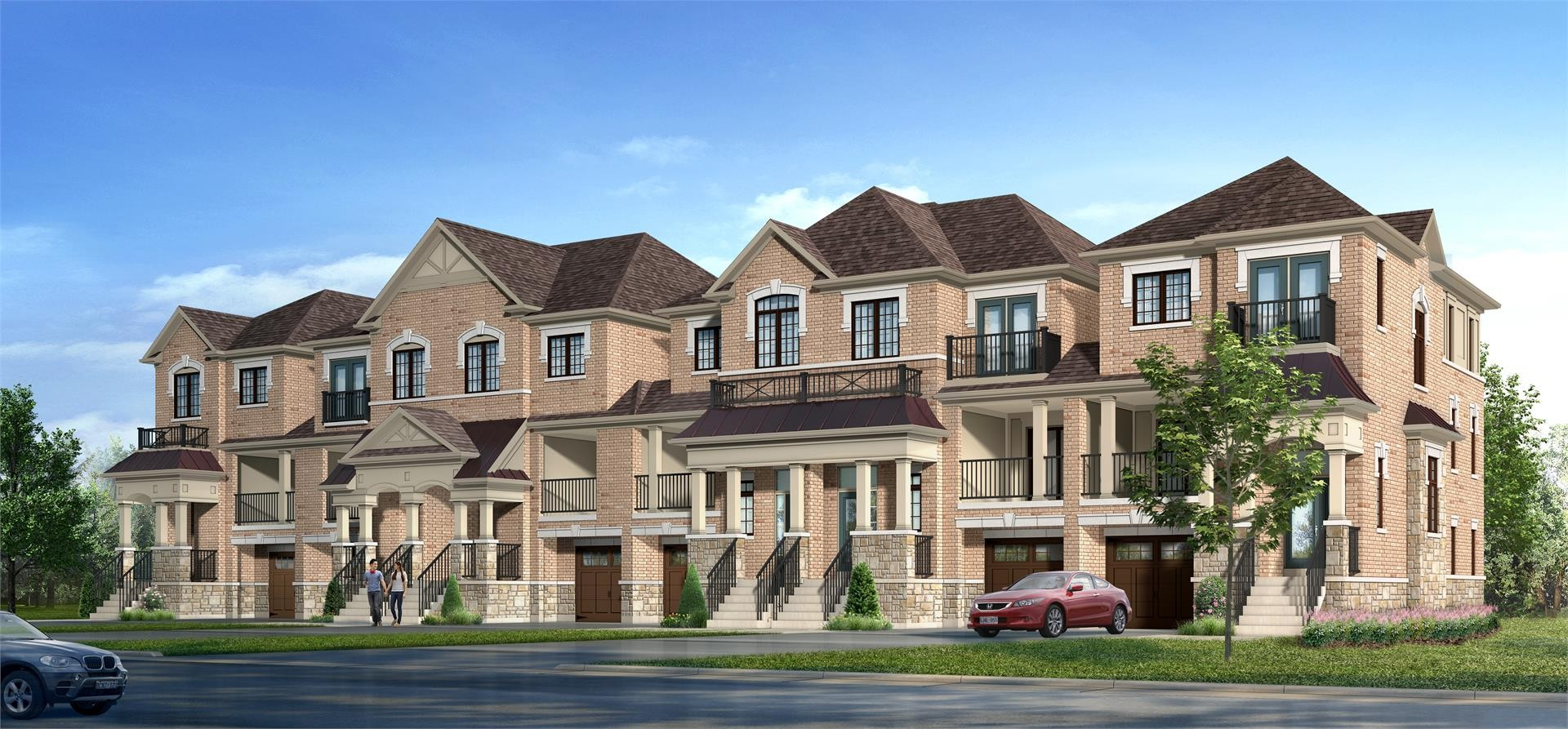 Forest Gate at Lionhead Luxury Towns at 8475 Mississauga Rd, Brampton 0