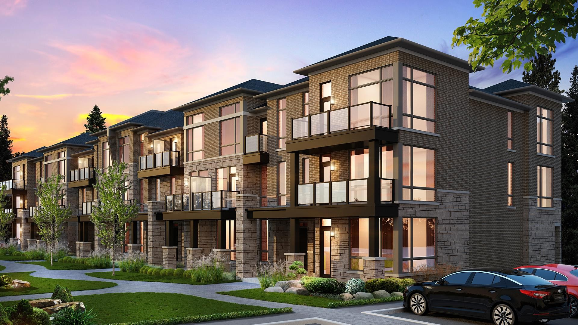 Vivid Urban Towns at 9452 The Gore Rd, Brampton 0