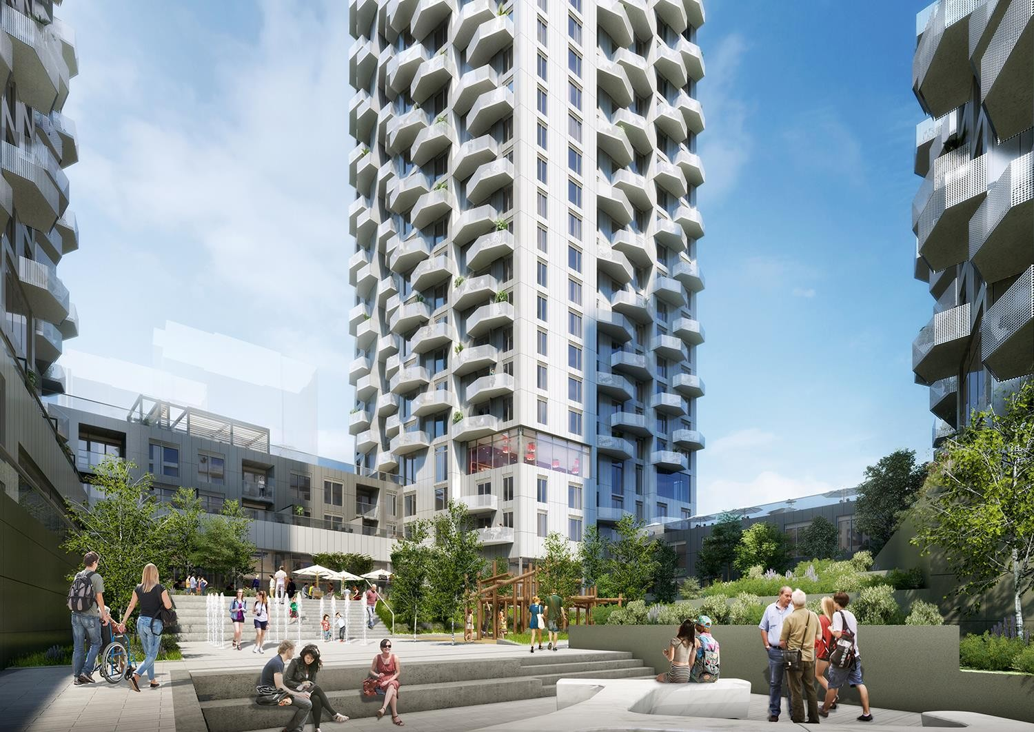 Abeja District Condos at 2901 Rutherford Rd, Vaughan 0
