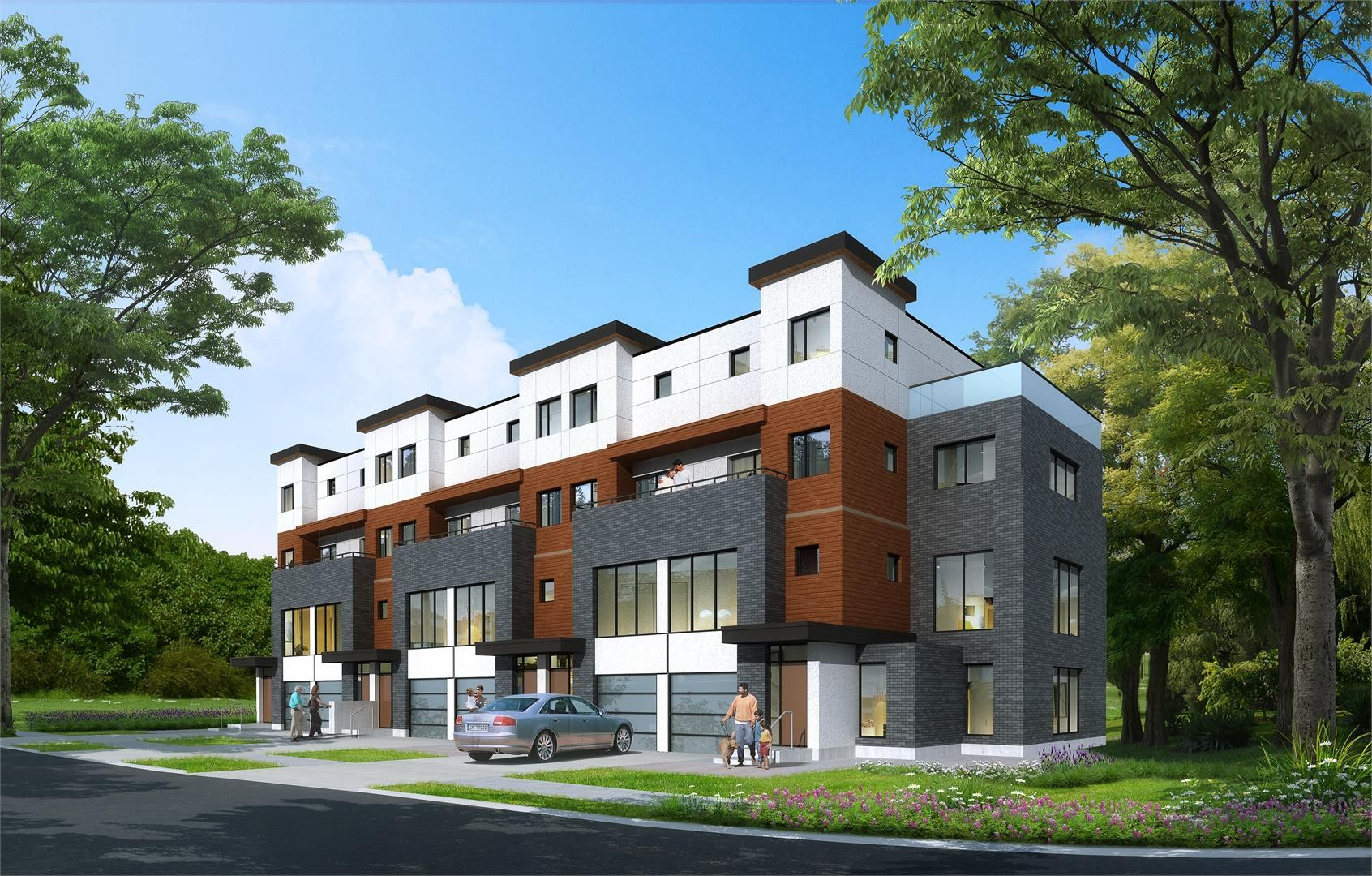 Adesso Modern Town Residences at 8295 Islington Ave, Vaughan 0
