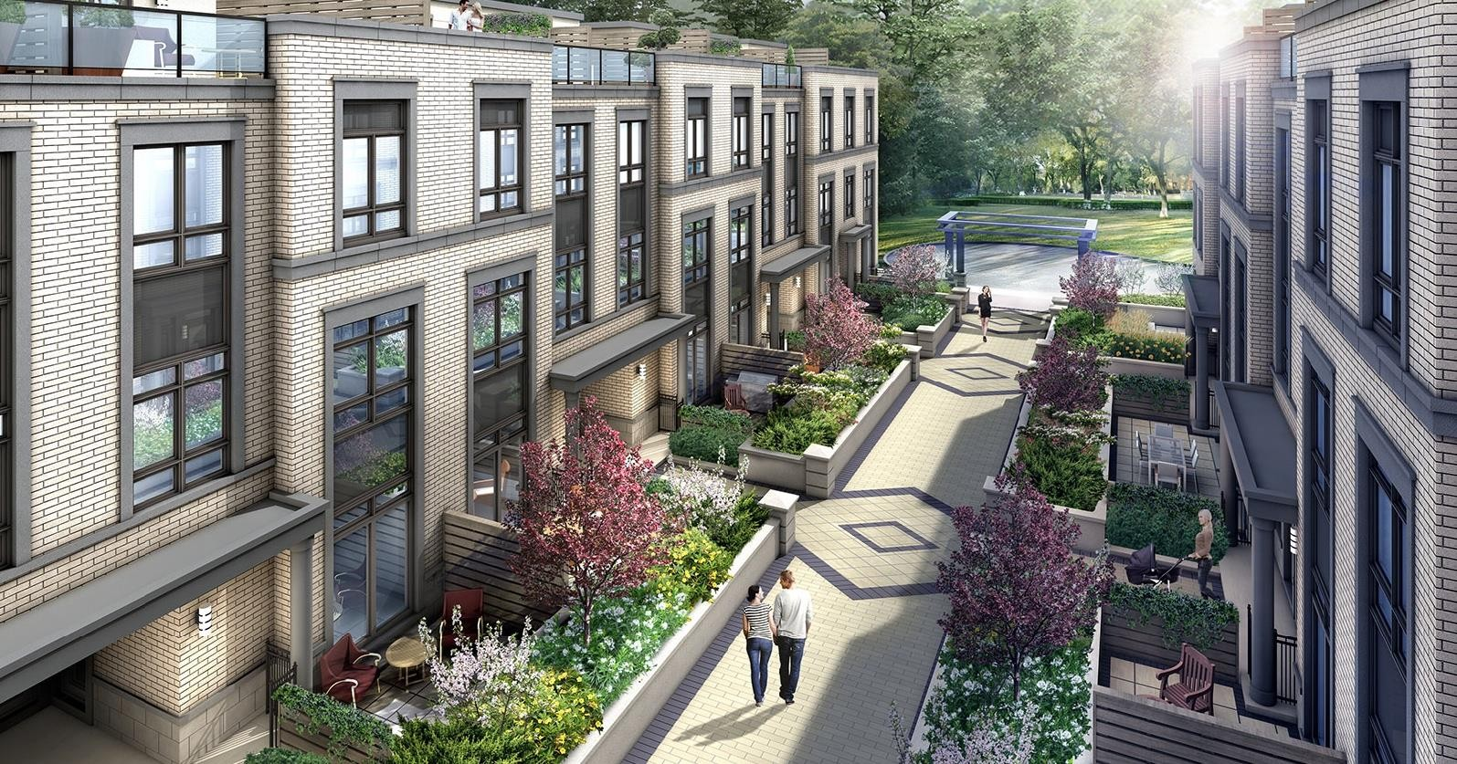 The Weston Townhomes at 3812 Major MacKenzie Dr W, Vaughan 0