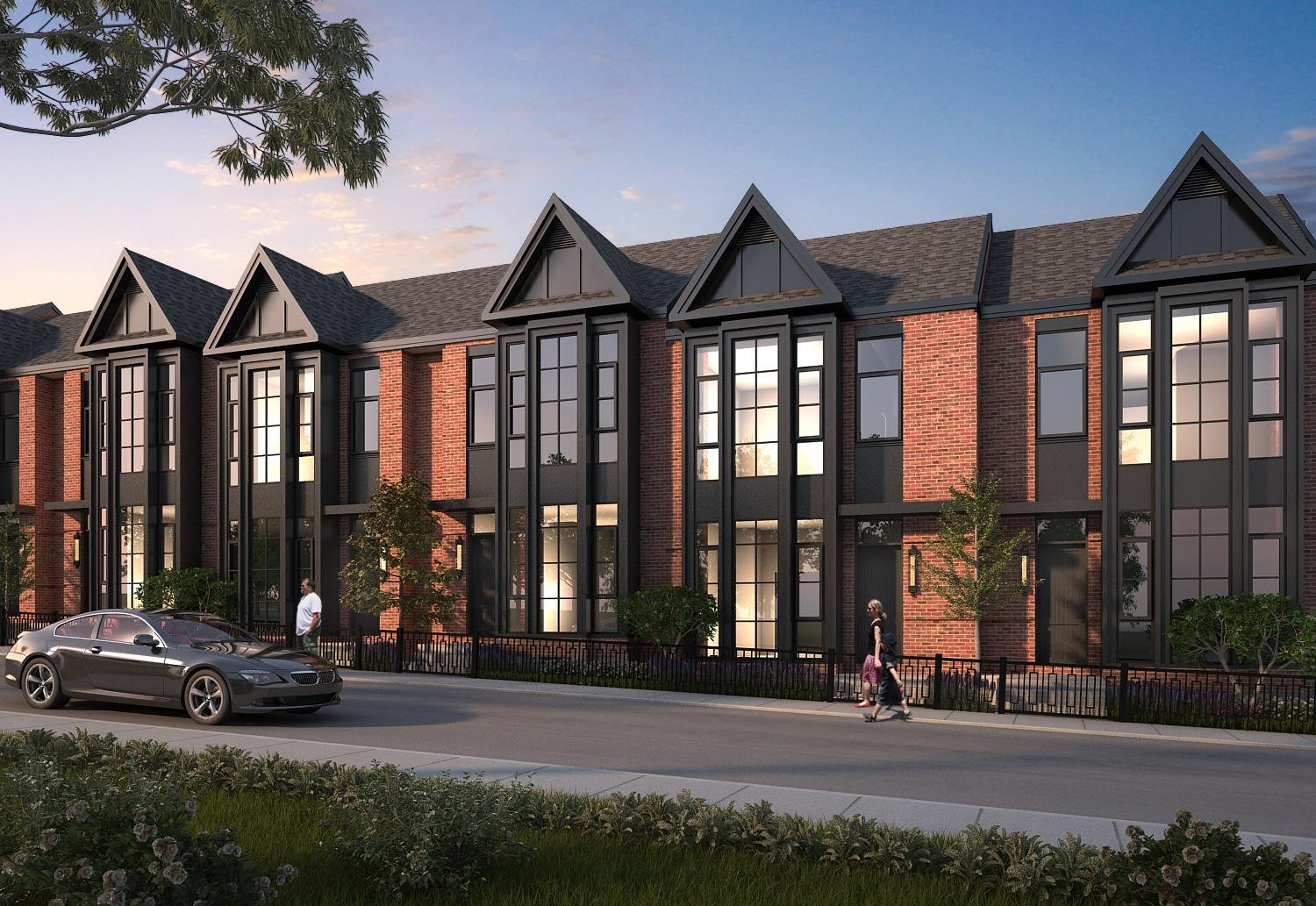 King George School Lofts & Town Homes at 400 Park Ave, Newmarket 0