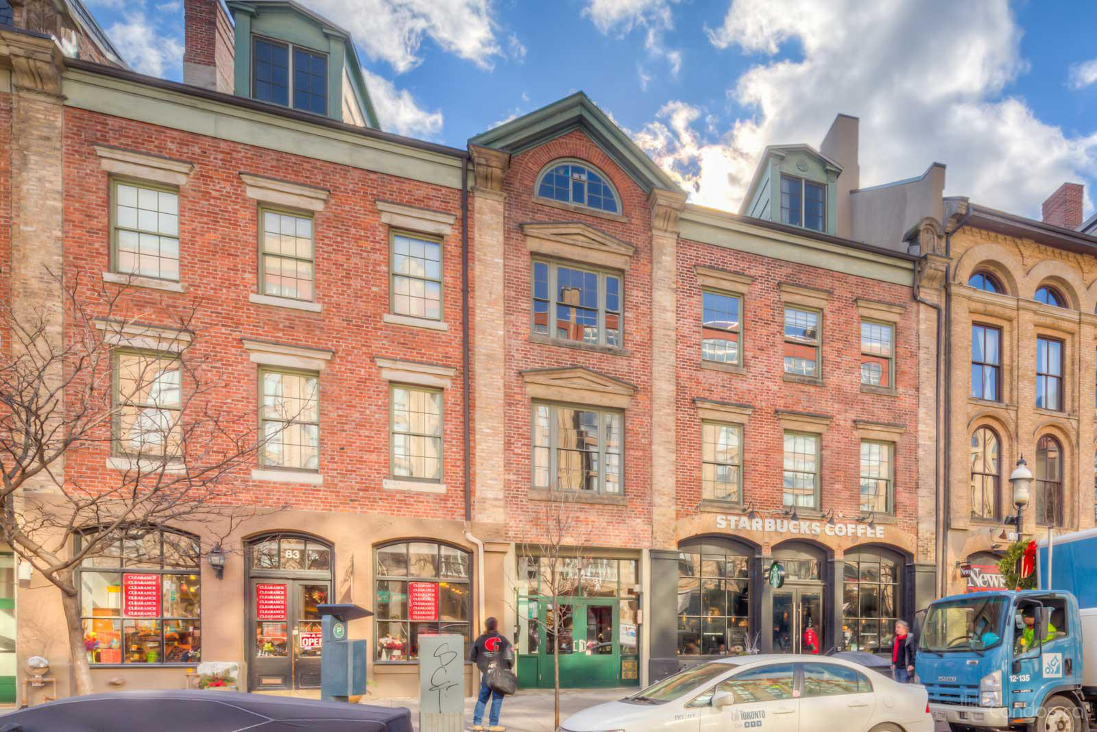 St Lawrence Market Lofts at 81A Front St E, Toronto 0
