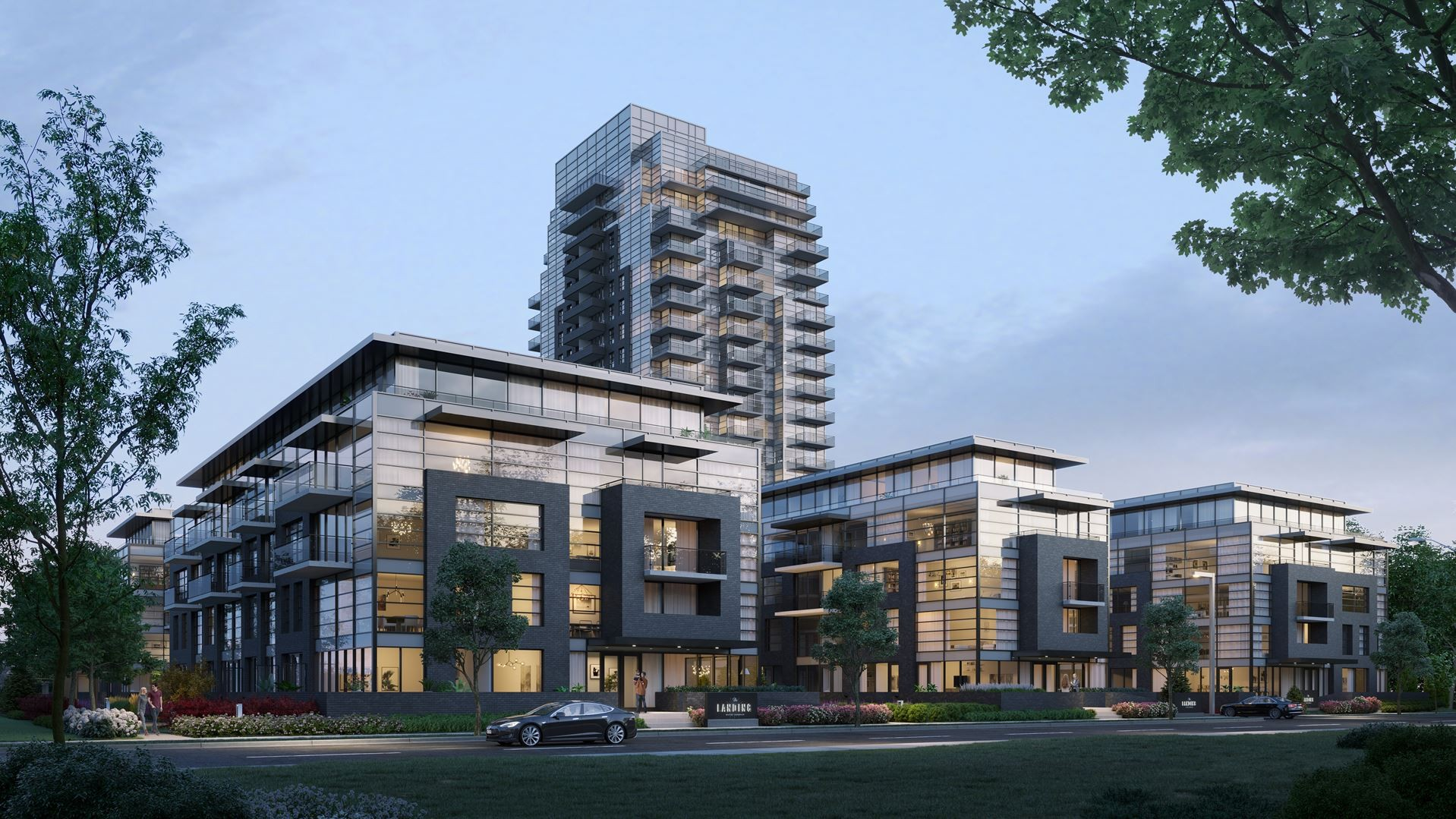 The Landing Condos at Whitby Harbour at 1614 Charles St, Whitby 0
