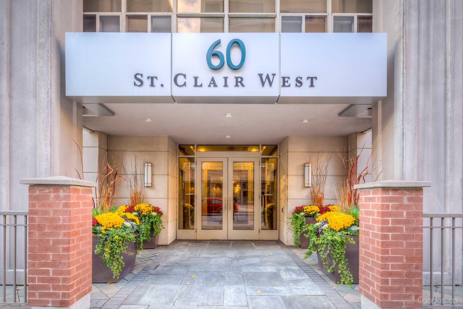 60 St Clair West at 60 St Clair Ave W, Toronto 0