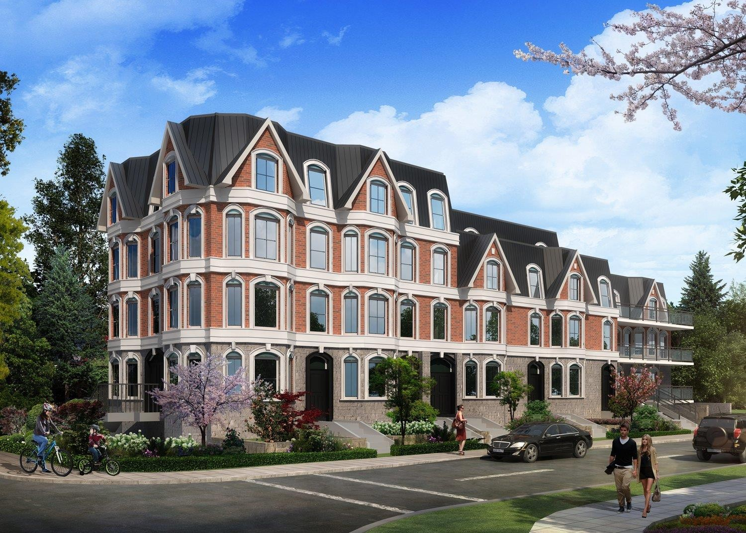The Somerside Collection at 120 Donlands Ave, Toronto 0